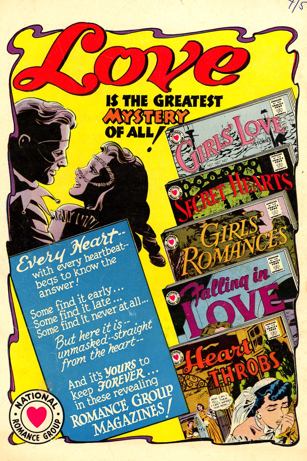 Read online Secret Hearts comic -  Issue #64 - 36