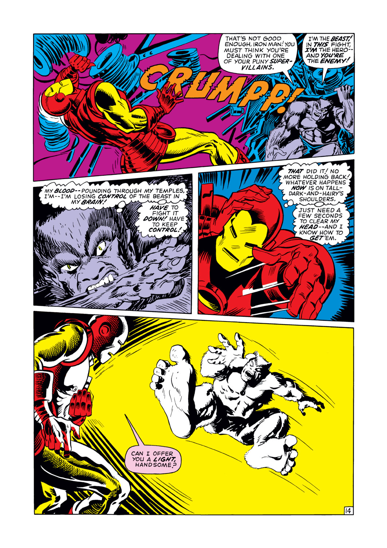 Read online Amazing Adventures (1970) comic -  Issue #12 - 15