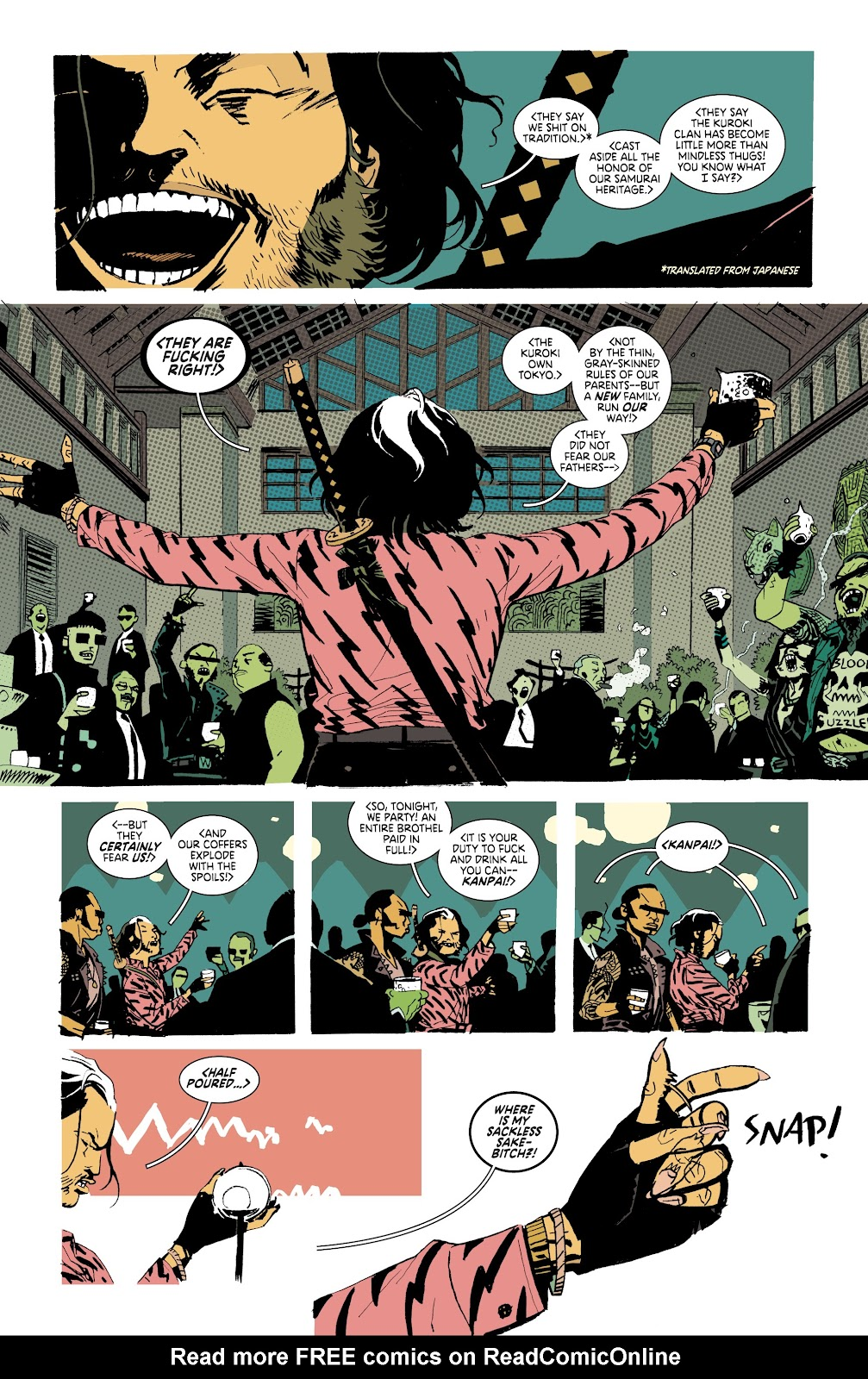 Read online Deadly Class comic -  Issue #37 - 3