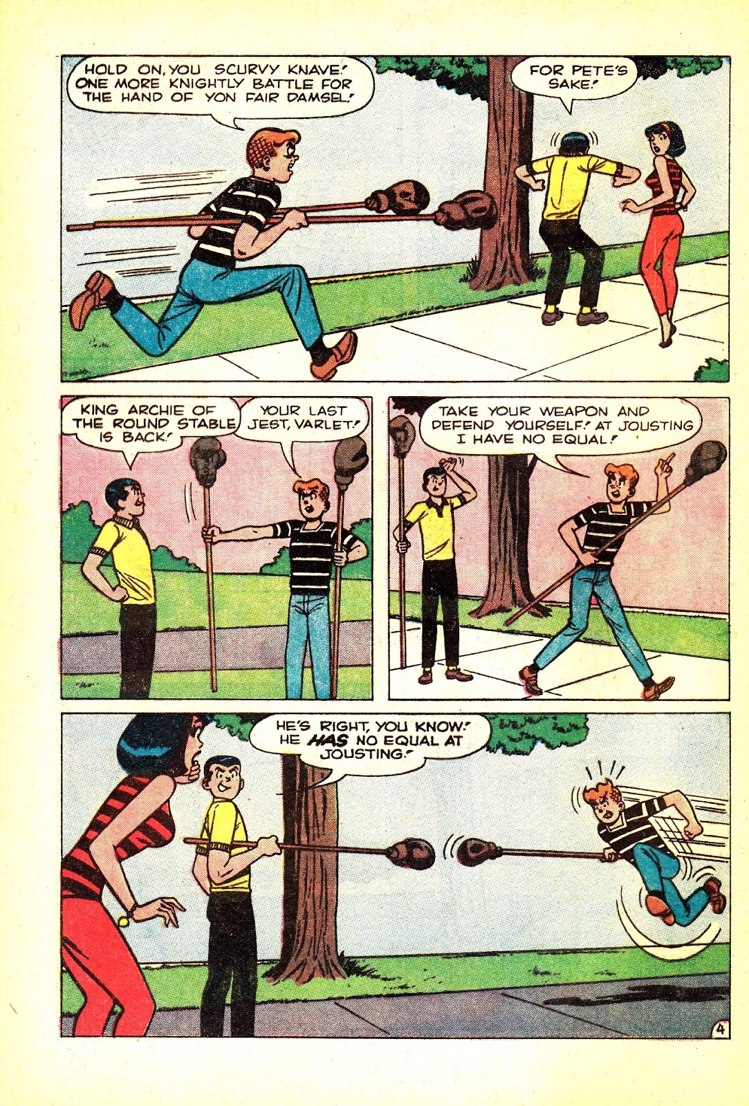 Read online Archie (1960) comic -  Issue #165 - 32