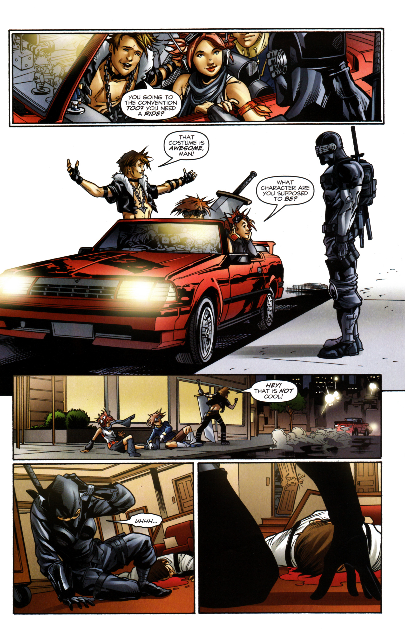 Read online Snake Eyes and Storm Shadow comic -  Issue #14 - 21