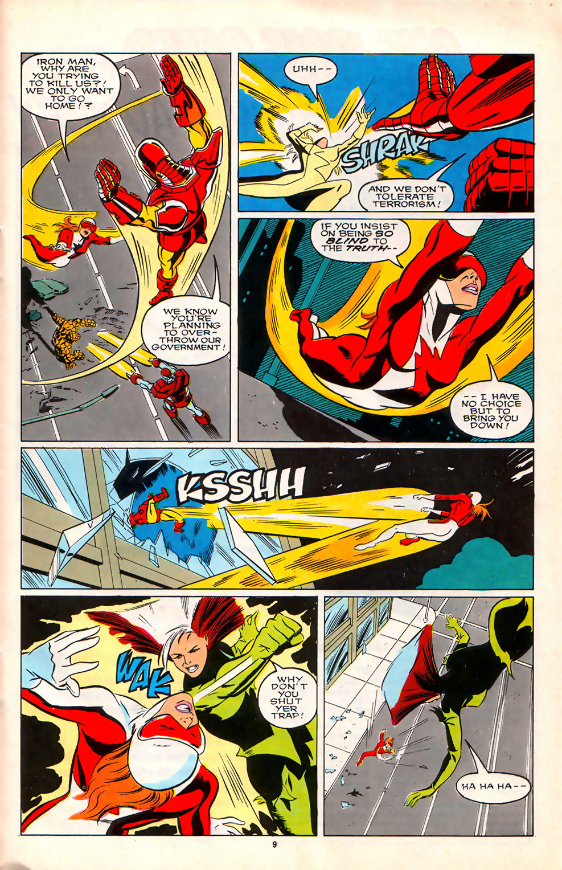 Read online Alpha Flight (1983) comic -  Issue #75 - 9
