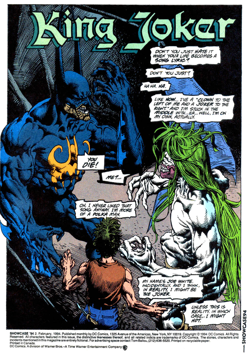 Read online Showcase '94 comic -  Issue #2 - 2