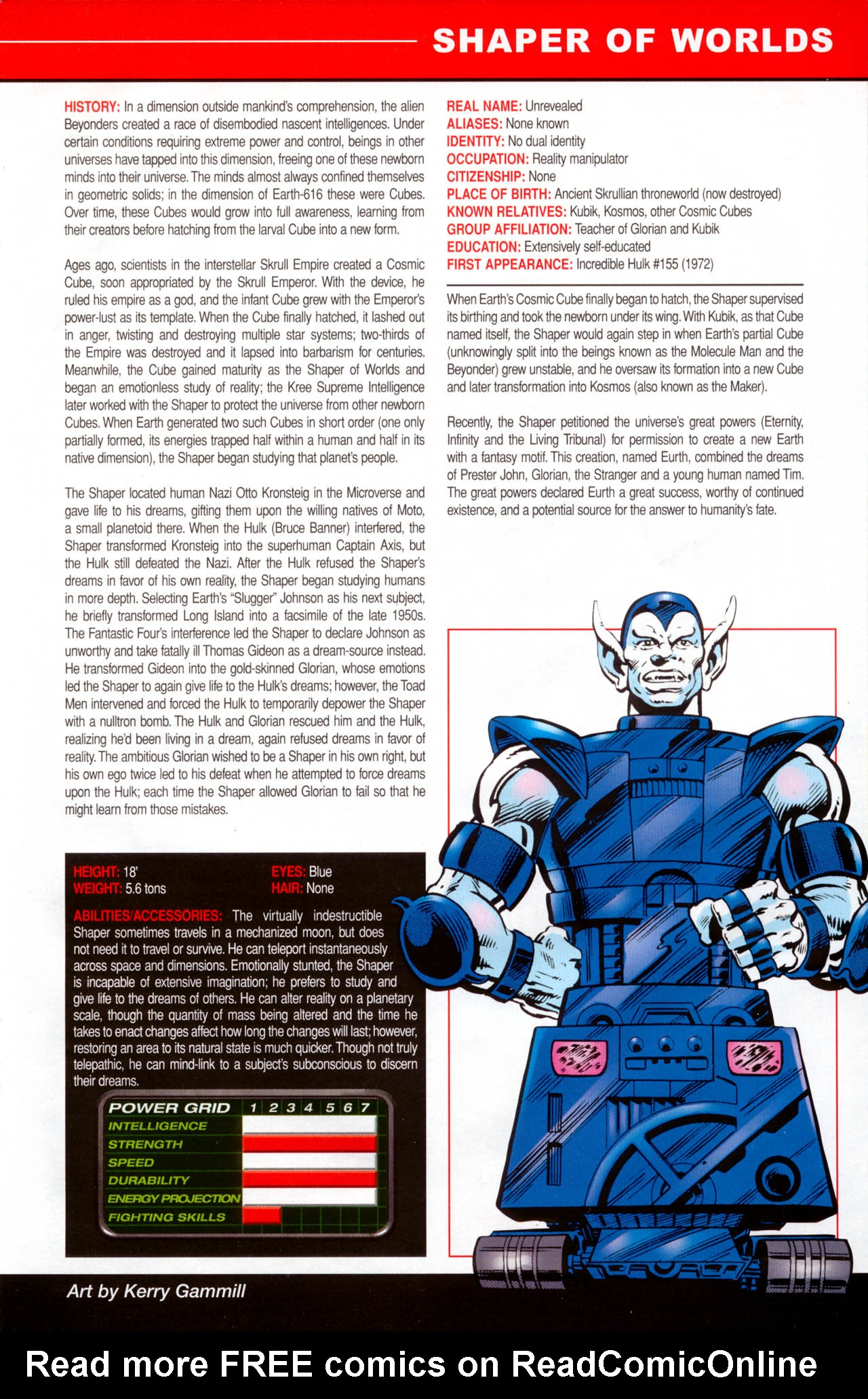 Read online All-New Official Handbook of the Marvel Universe A to Z: Update comic -  Issue #2 - 51