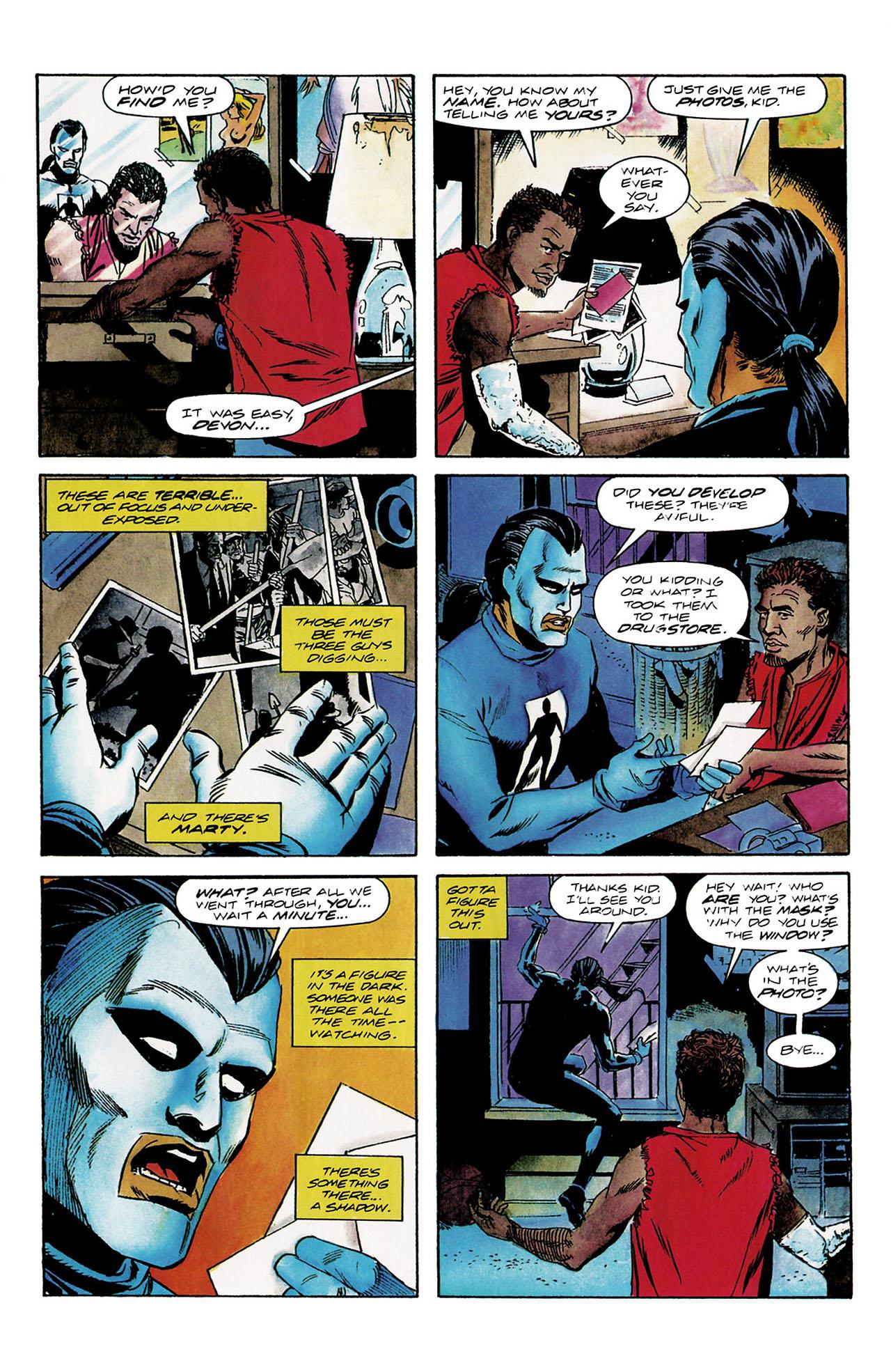 Read online Shadowman (1992) comic -  Issue #8 - 6