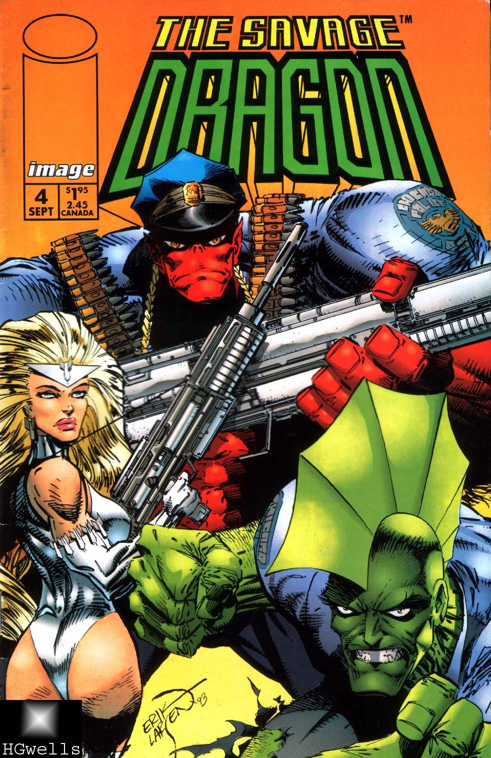 The Savage Dragon (1993) Issue #4 #6 - English 1