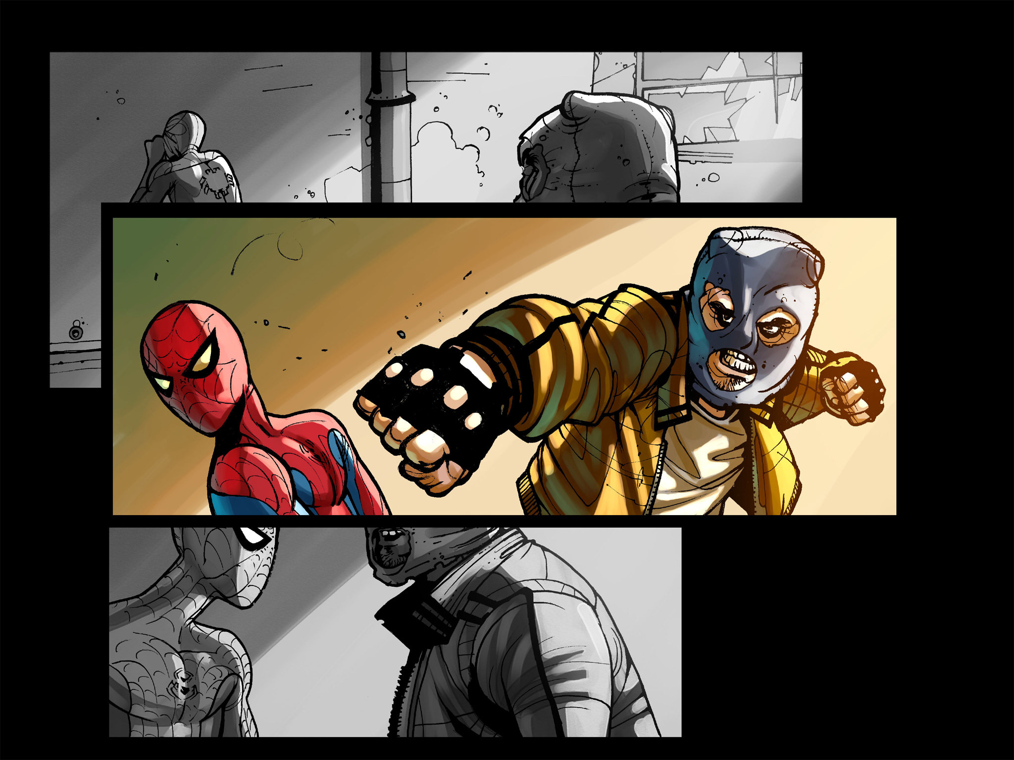 Read online Amazing Spider-Man: Who Am I? comic -  Issue # Full (Part 1) - 106