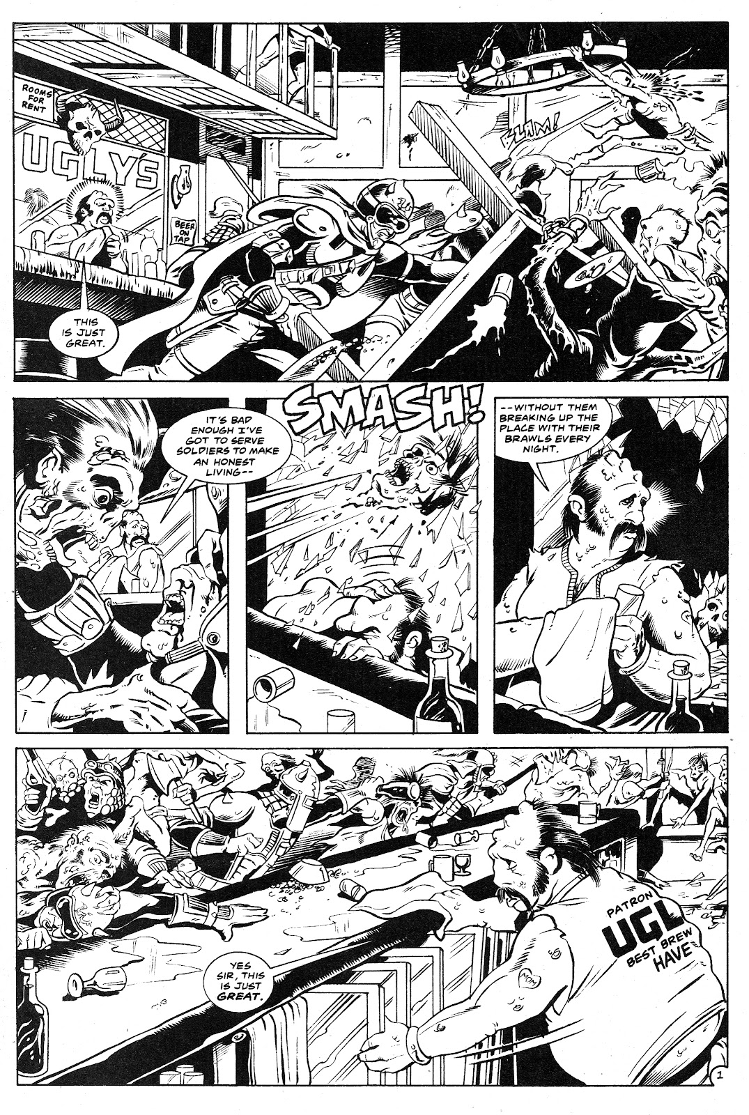 Ex-Mutants: The Shattered Earth Chronicles issue 9 - Page 3