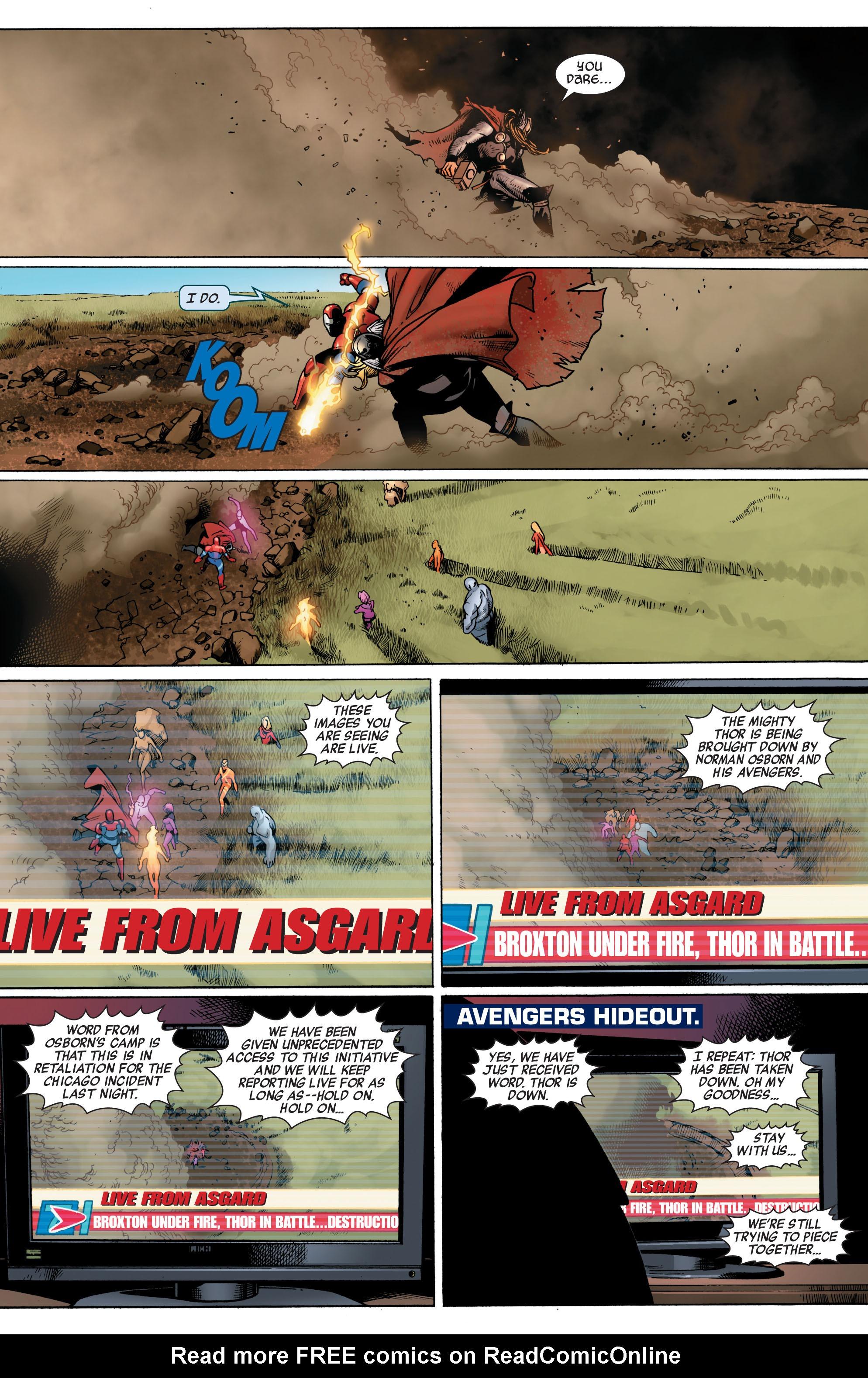 Read online Siege (2010) comic -  Issue #1 - 23