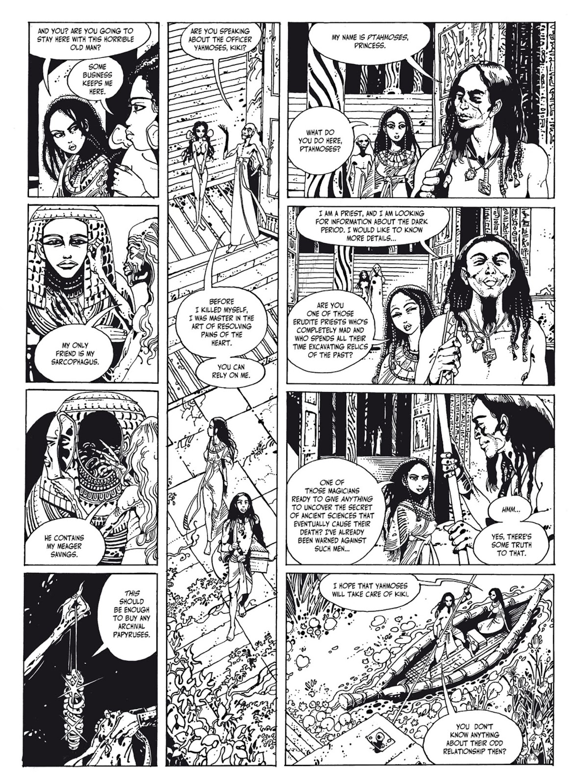 Read online The Egyptian Princesses comic -  Issue # TPB 1 (Part 1) - 69