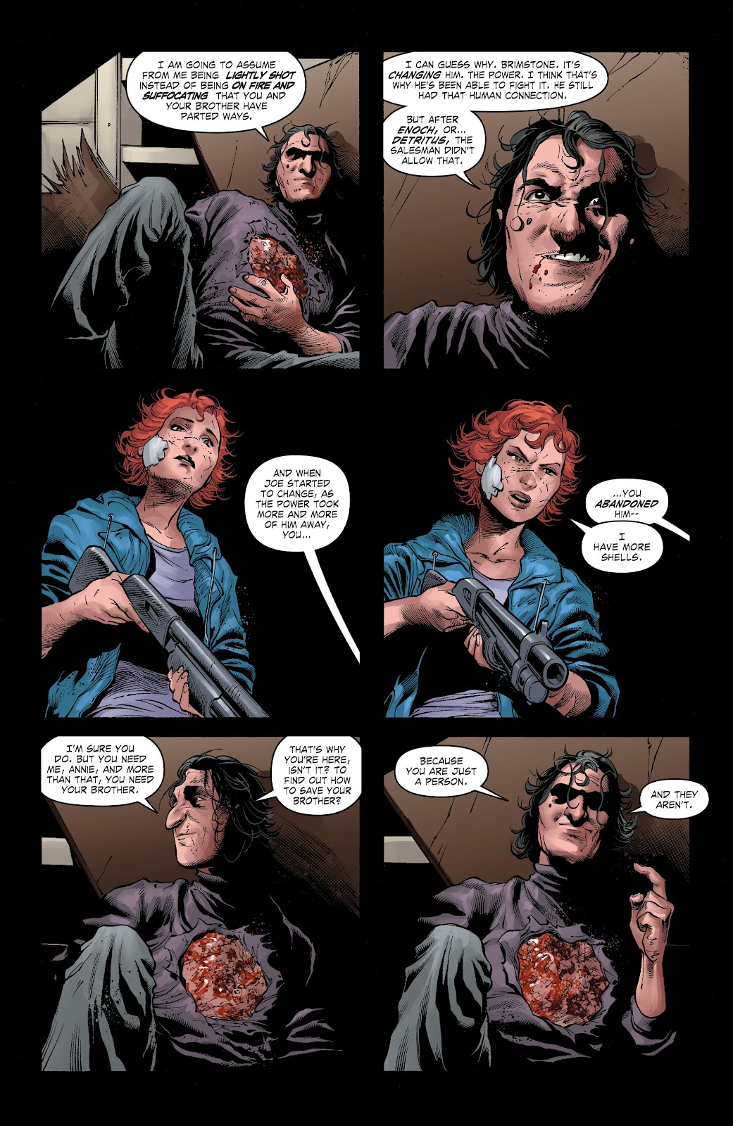 Read online The Curse of Brimstone: Ashes comic -  Issue # TPB (Part 2) - 19