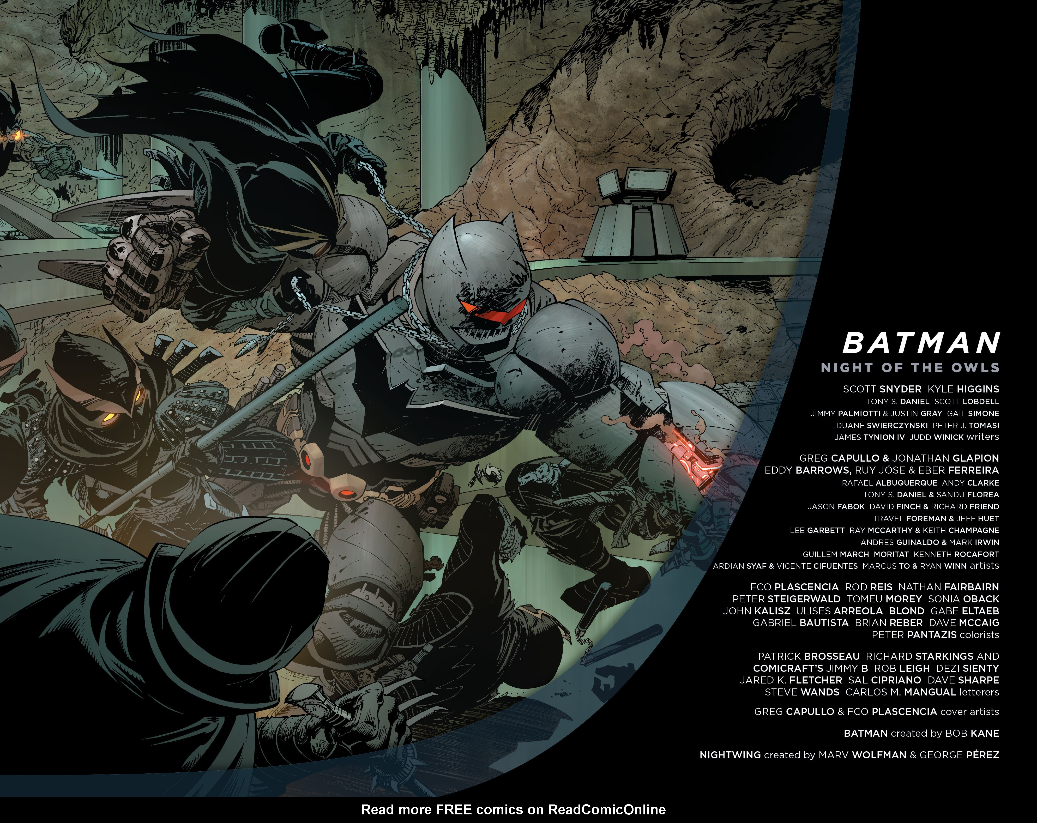 Batman: Night of the Owls Full Page 3