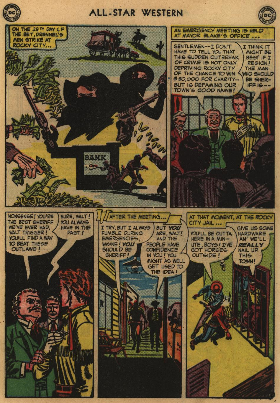 Read online All-Star Western (1951) comic -  Issue #60 - 7