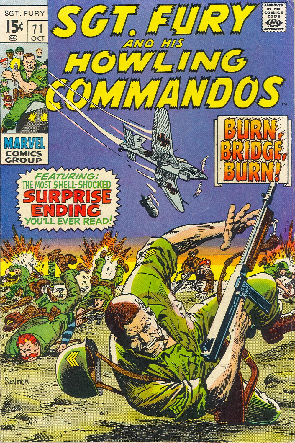 Read online Sgt. Fury comic -  Issue #71 - 1