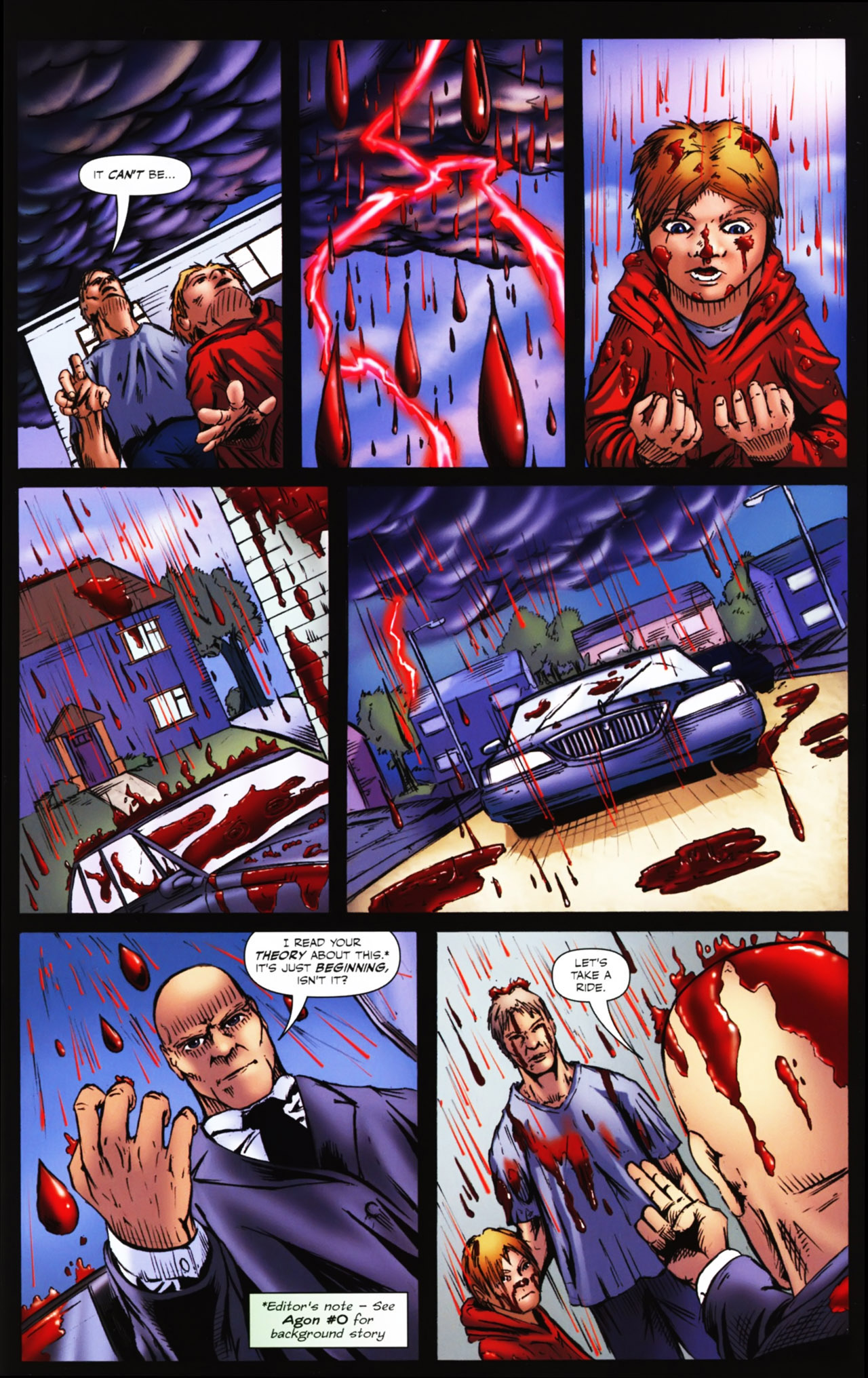 Read online Agon comic -  Issue #1 - 5