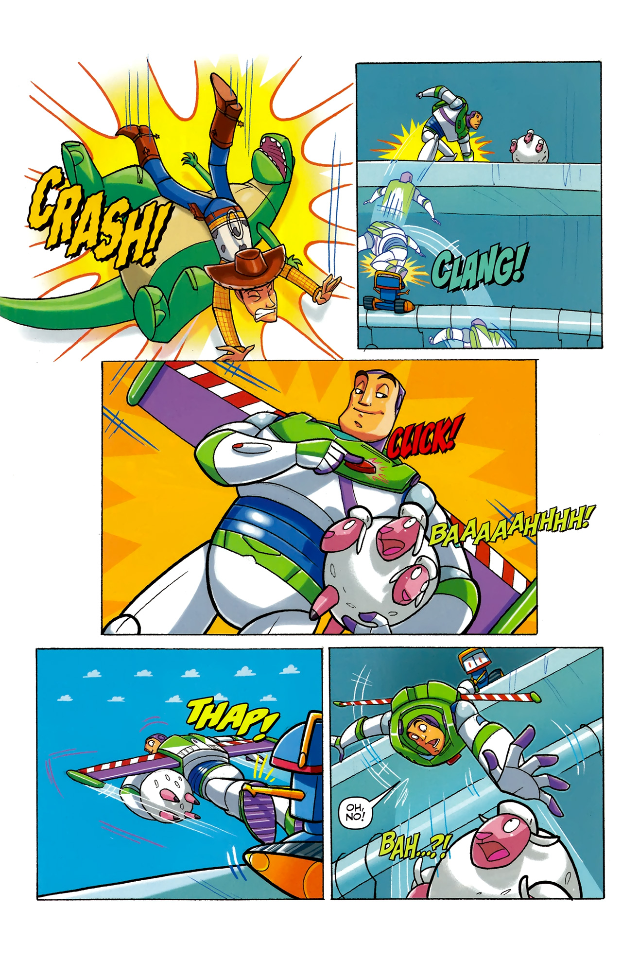 Read online Toy Story (2009) comic -  Issue #5 - 16