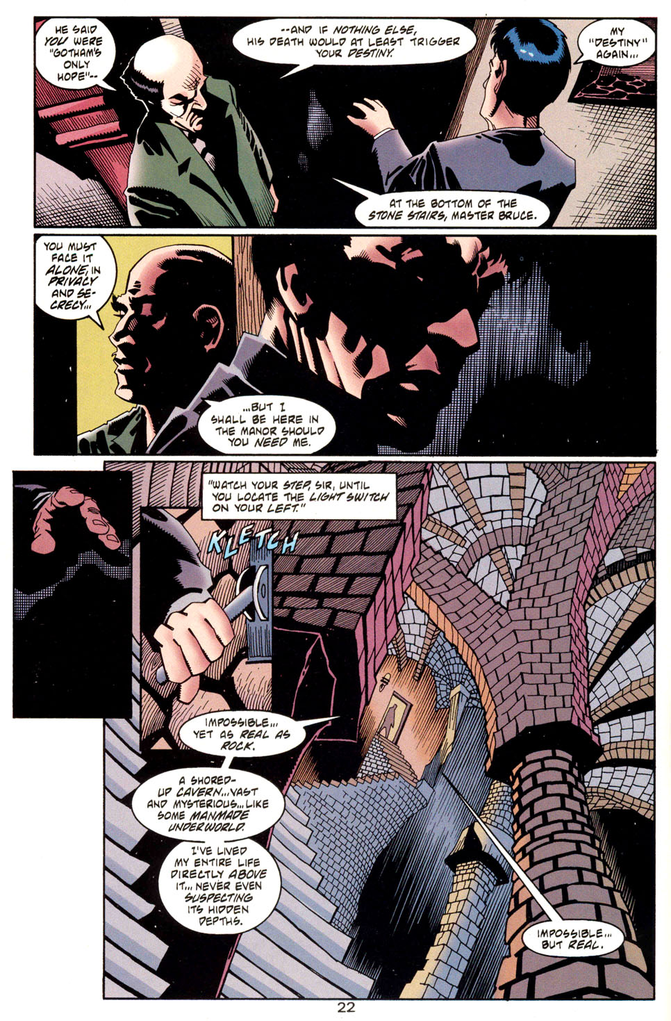 Read online Batman: Haunted Gotham comic -  Issue #1 - 24