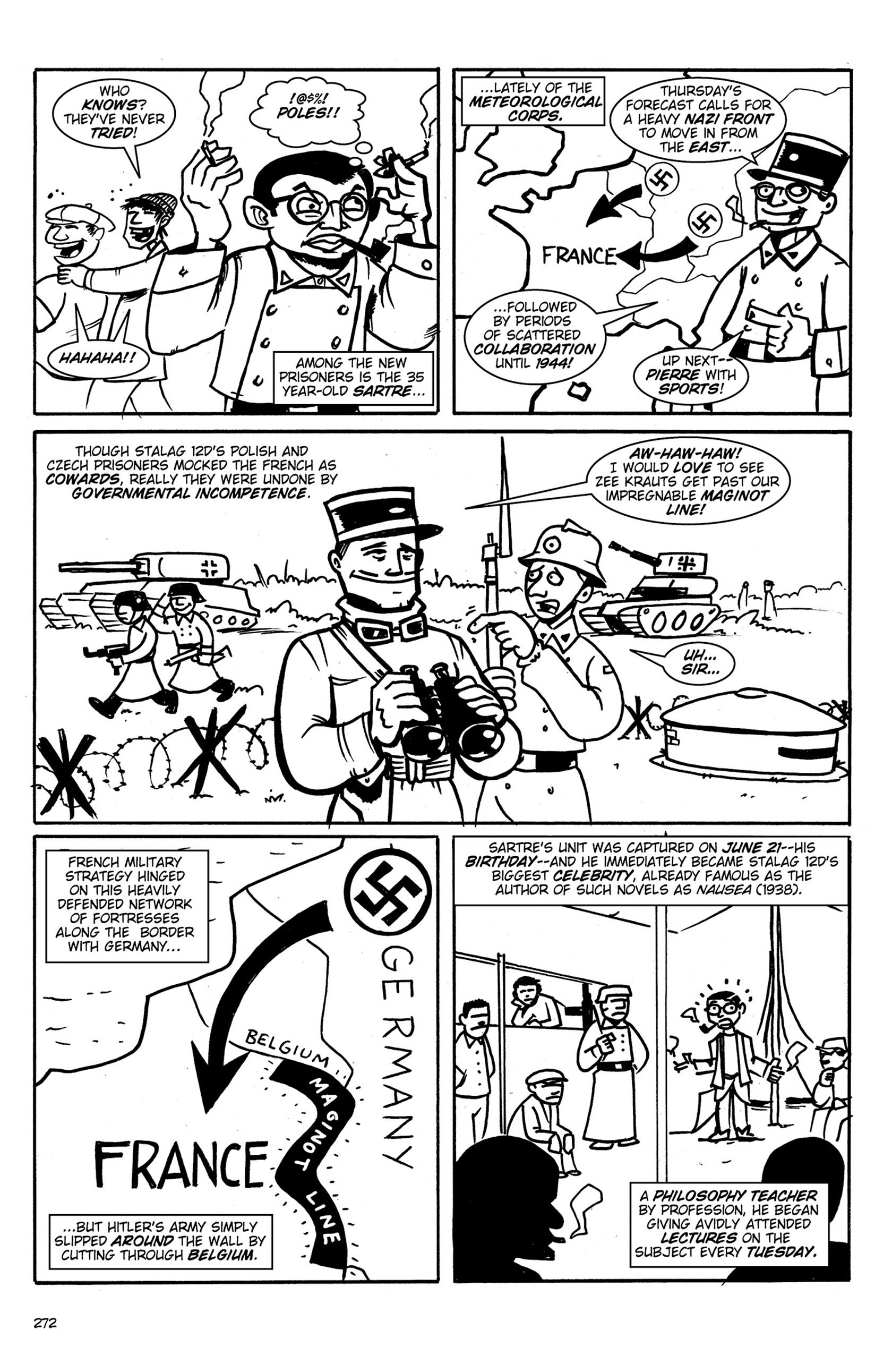 Read online Action Philosophers! comic -  Issue #Action Philosophers! TPB (Part 2) - 100