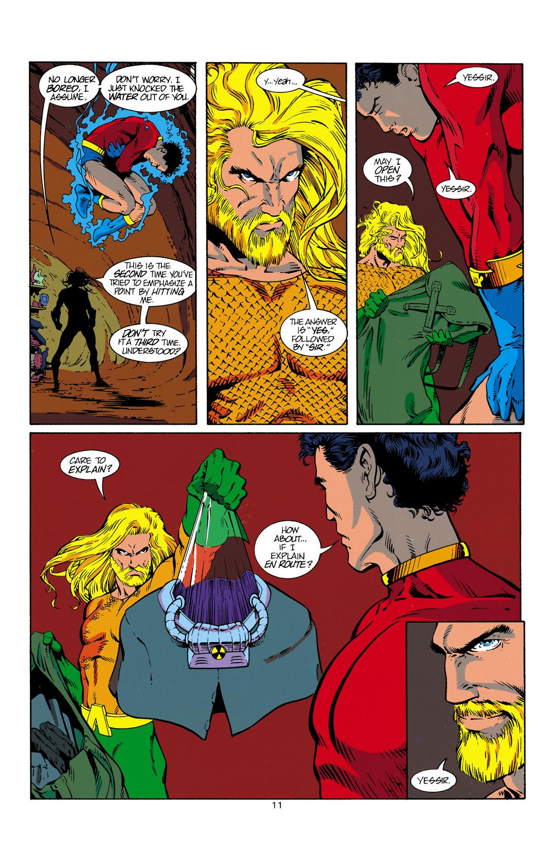 Read online Aquaman (1994) comic -  Issue #1 - 12