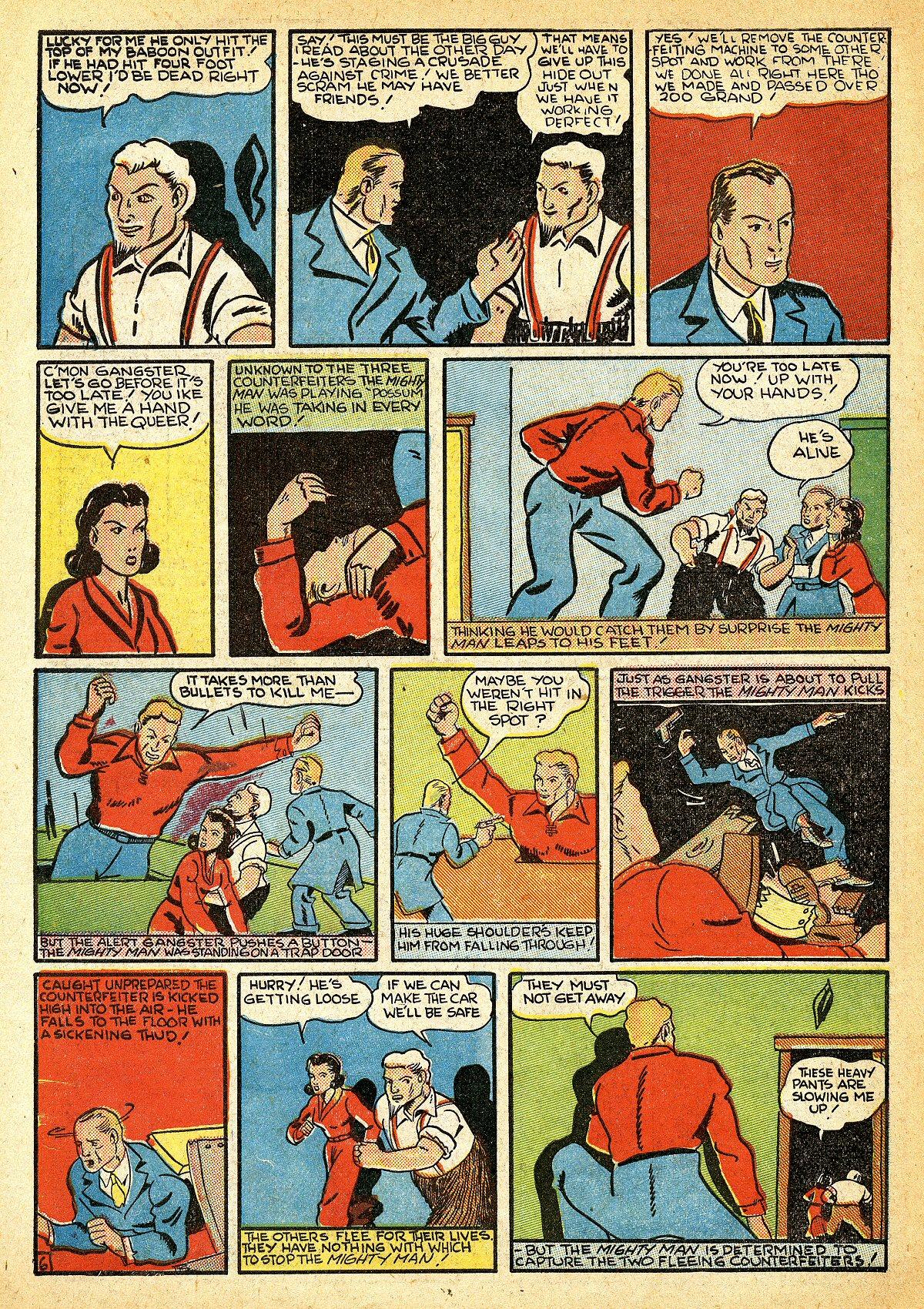 Read online Amazing Man Comics comic -  Issue #10 - 57