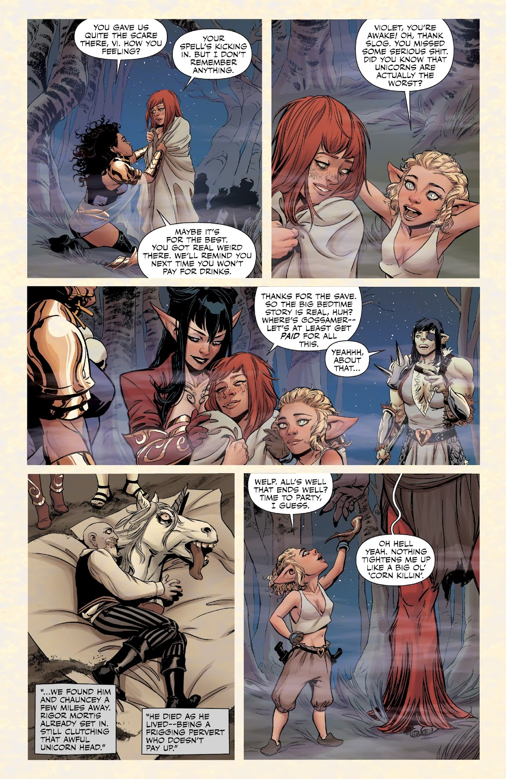 Read online Rat Queens Special: Swamp Romp comic -  Issue # Full - 21