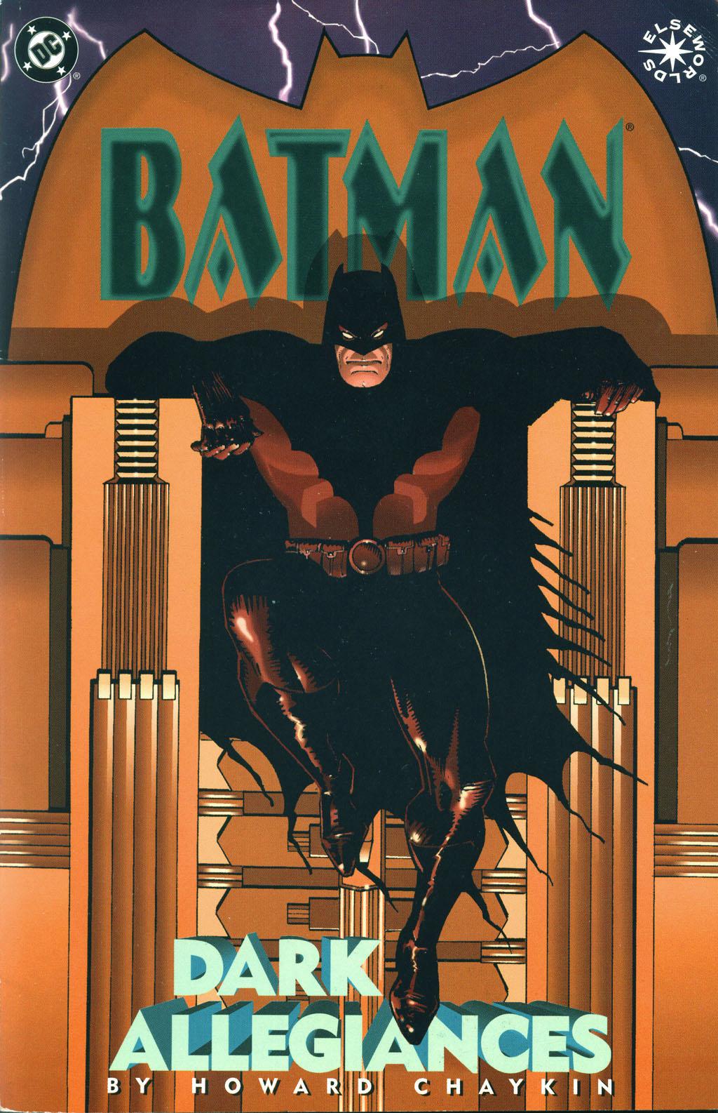 Batman: Dark Allegiances Full Page 1