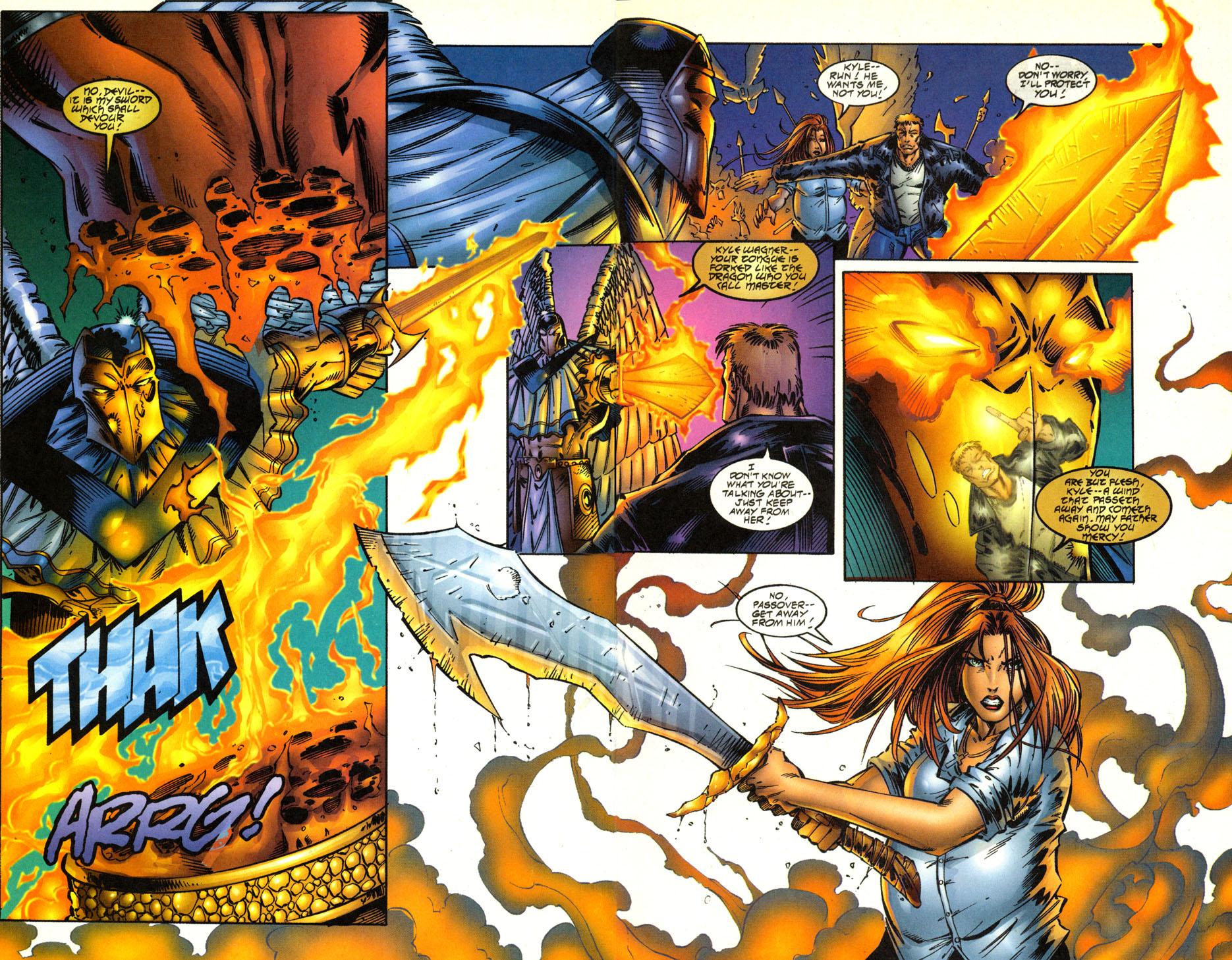 Read online Avengelyne (1996) comic -  Issue #2 - 17