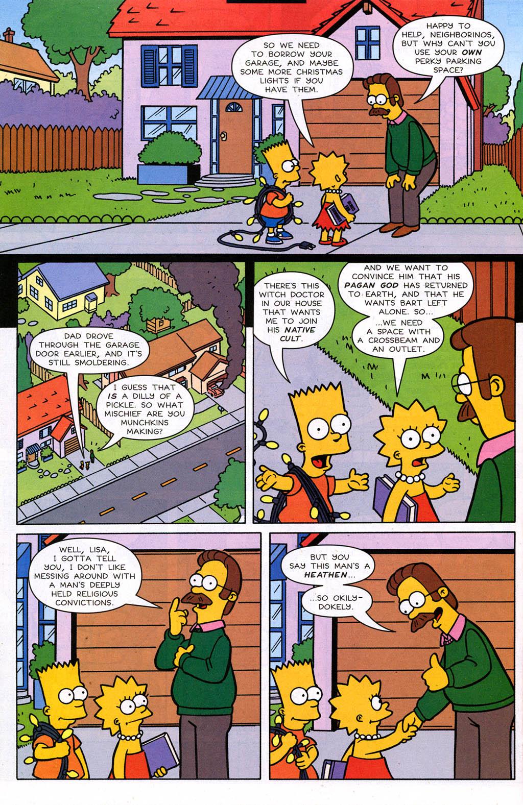 Read online Simpsons Comics comic -  Issue #98 - 15
