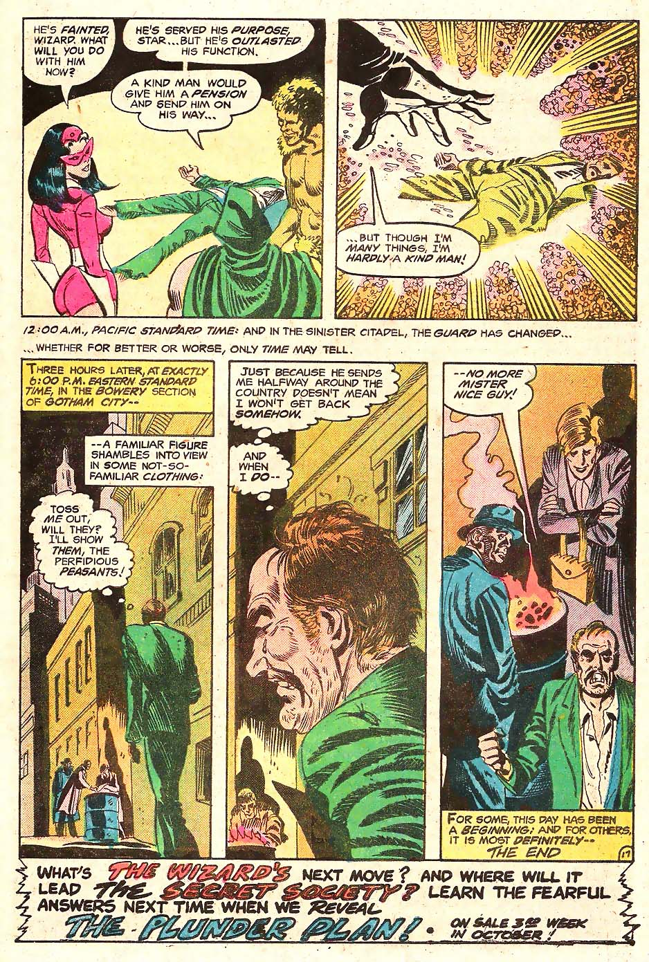 Read online Secret Society of Super-Villains comic -  Issue #11 - 18
