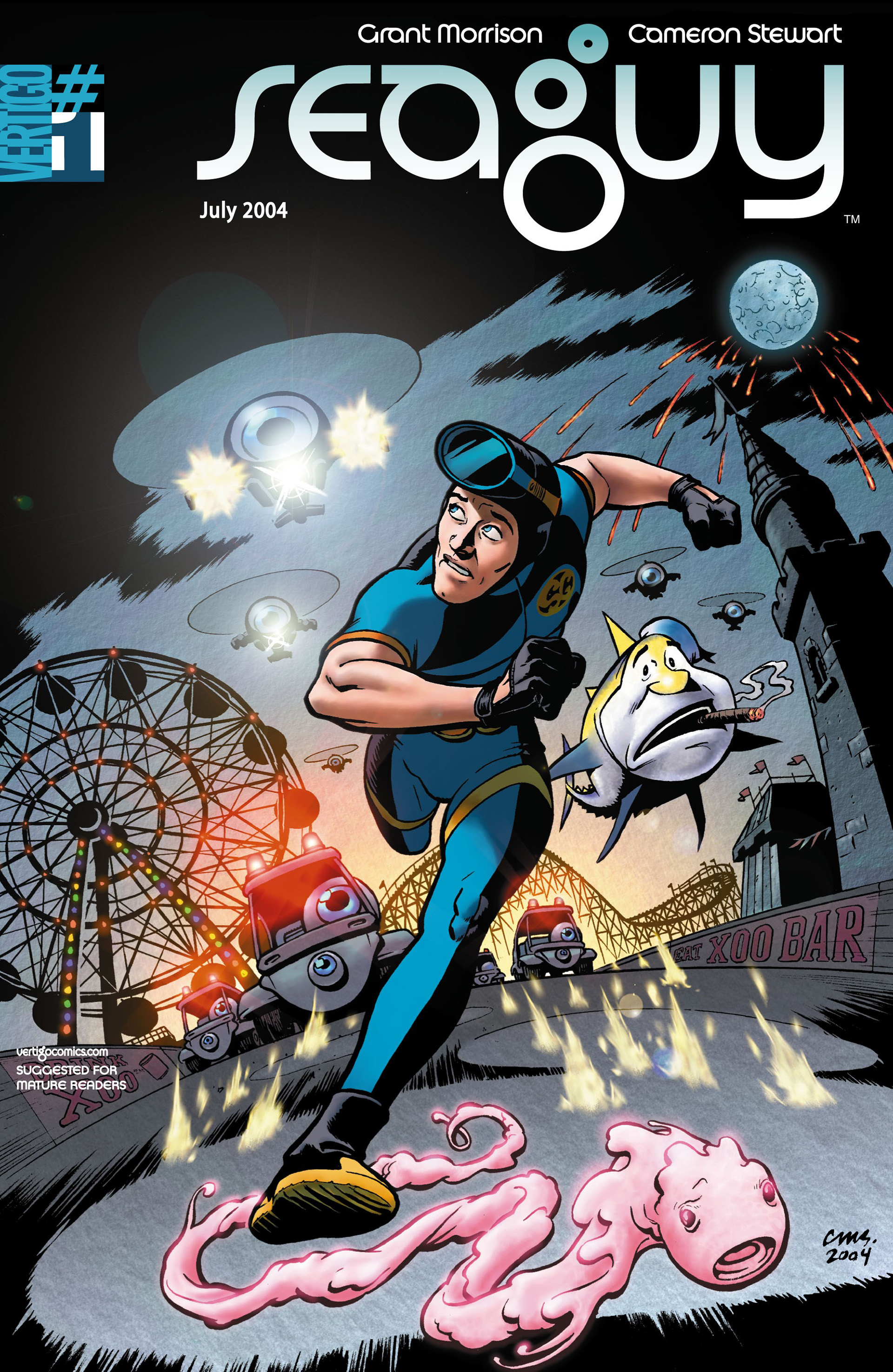 Read online Seaguy comic -  Issue #1 - 1