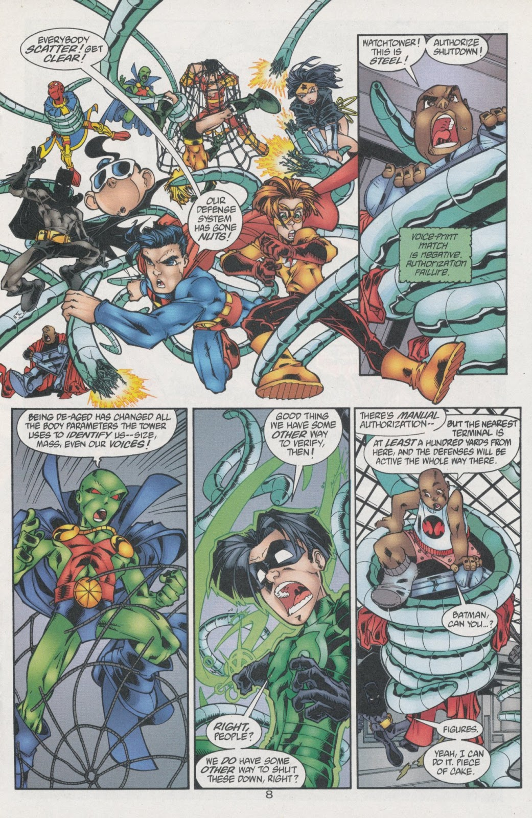Sins of Youth issue JLA Jr. - Page 13