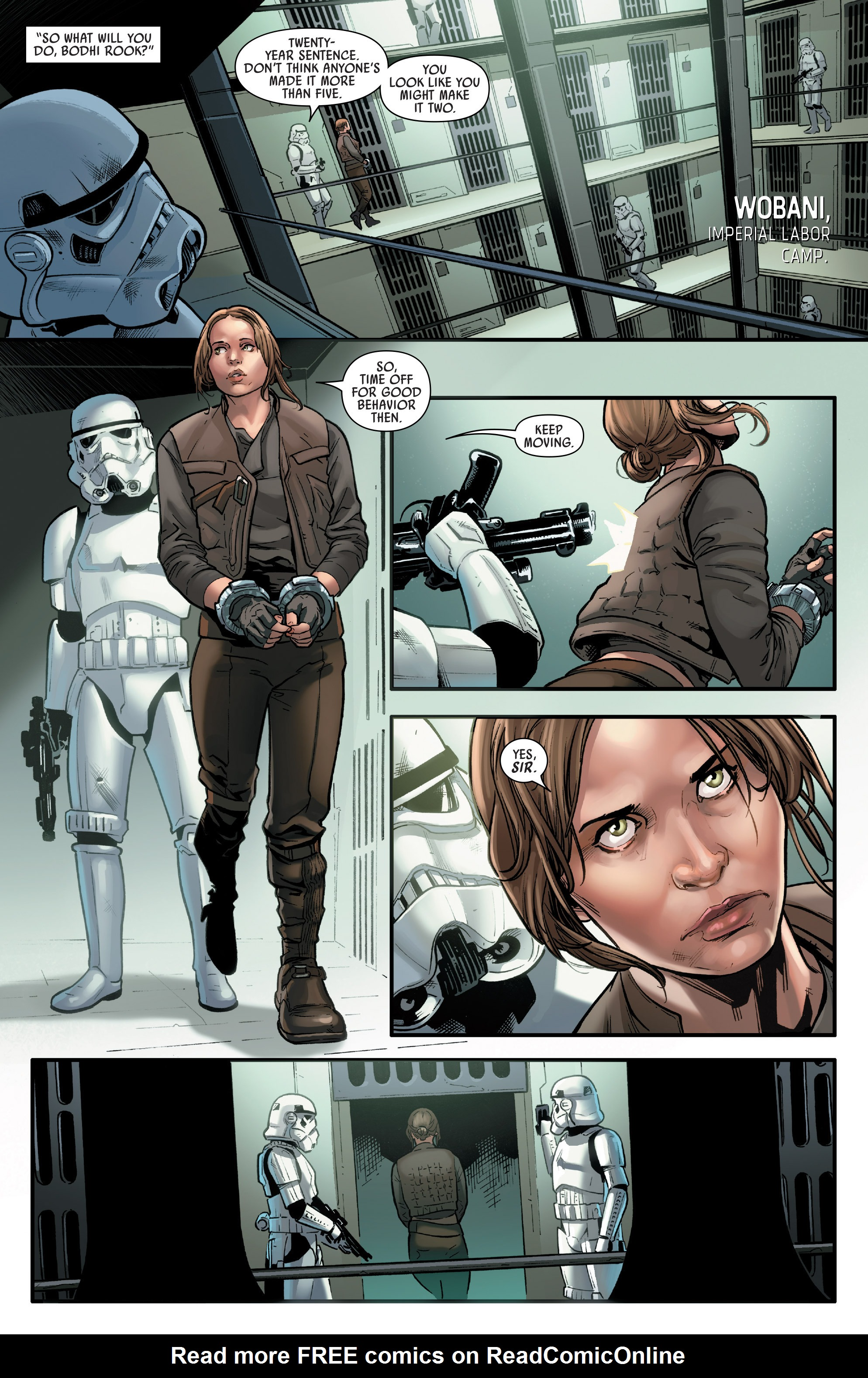 Read online Star Wars: Rogue One Adaptation comic -  Issue #1 - 6