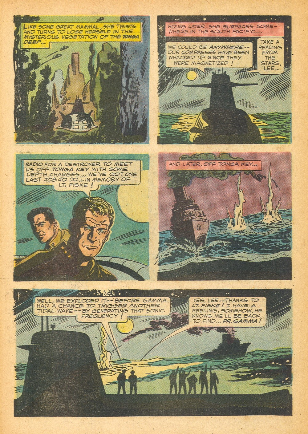 Voyage to the Bottom of the Sea issue 1 - Page 34
