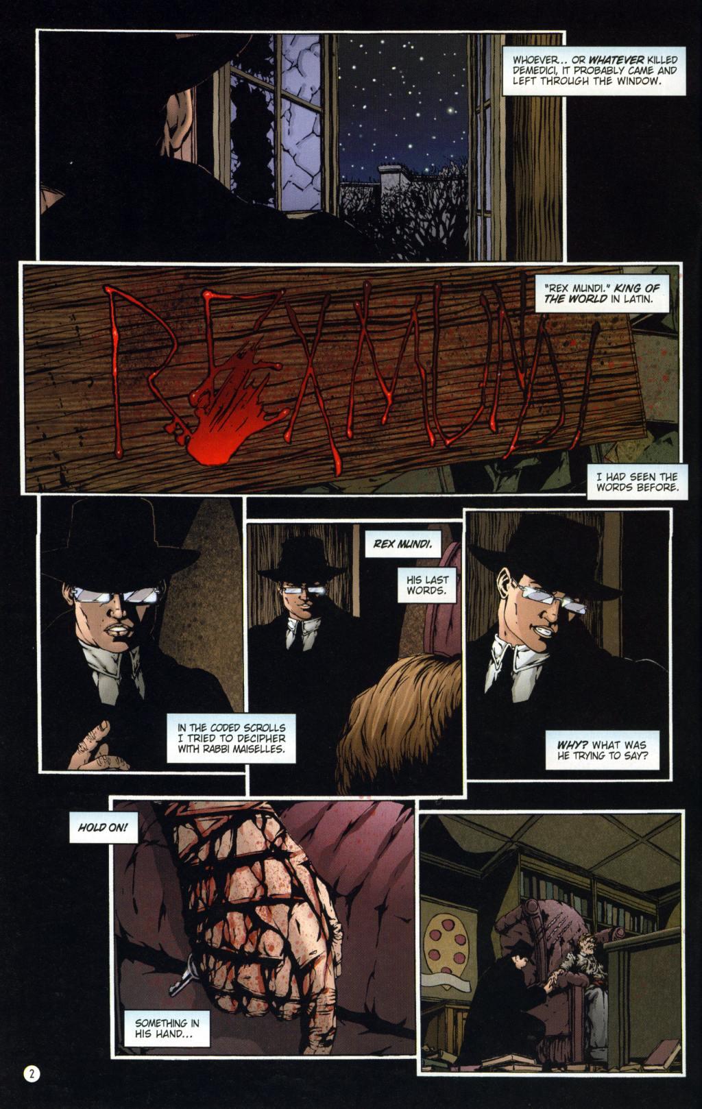 Read online Rex Mundi comic -  Issue #8 - 6
