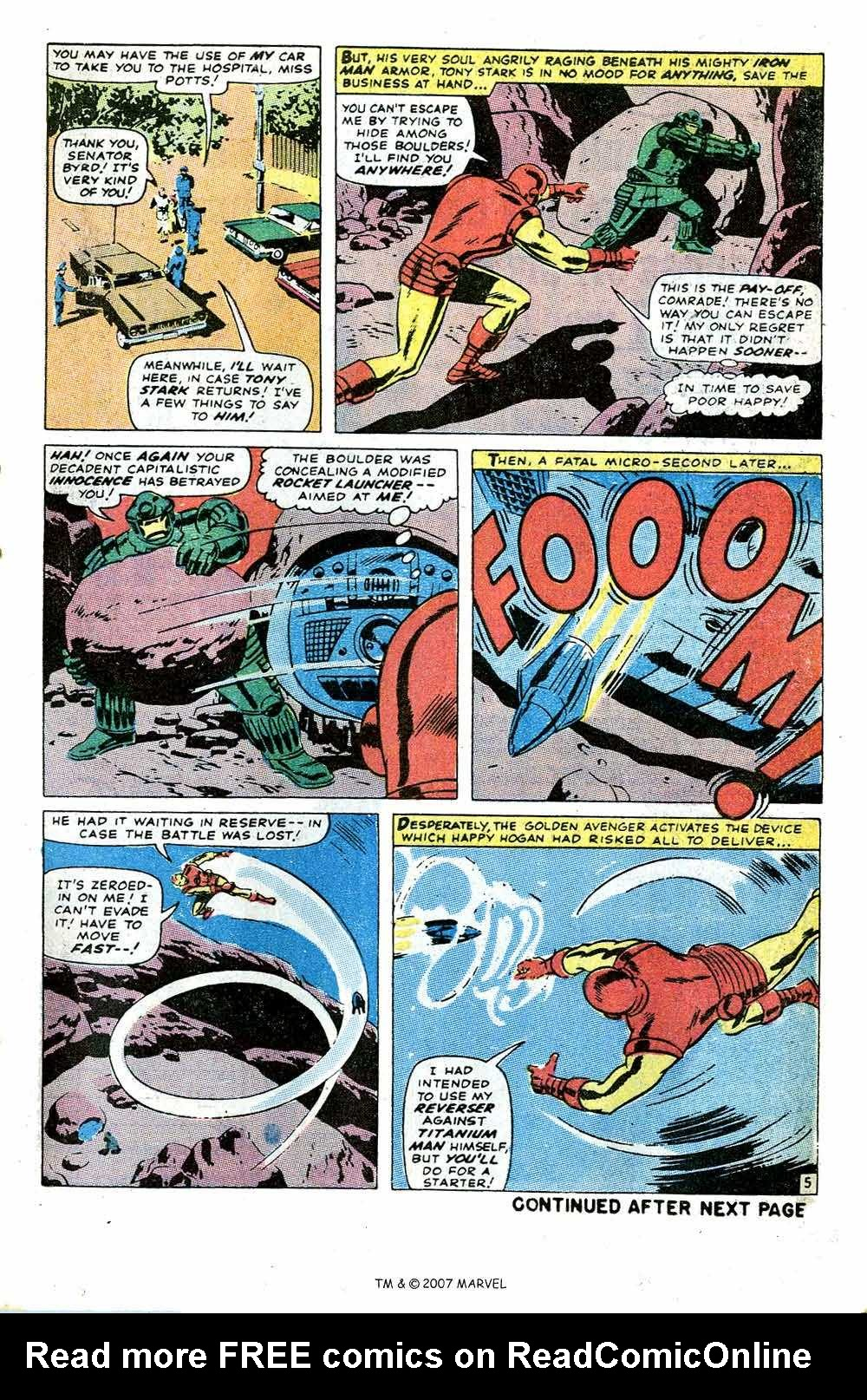 Iron Man Annual issue 1 - Page 7
