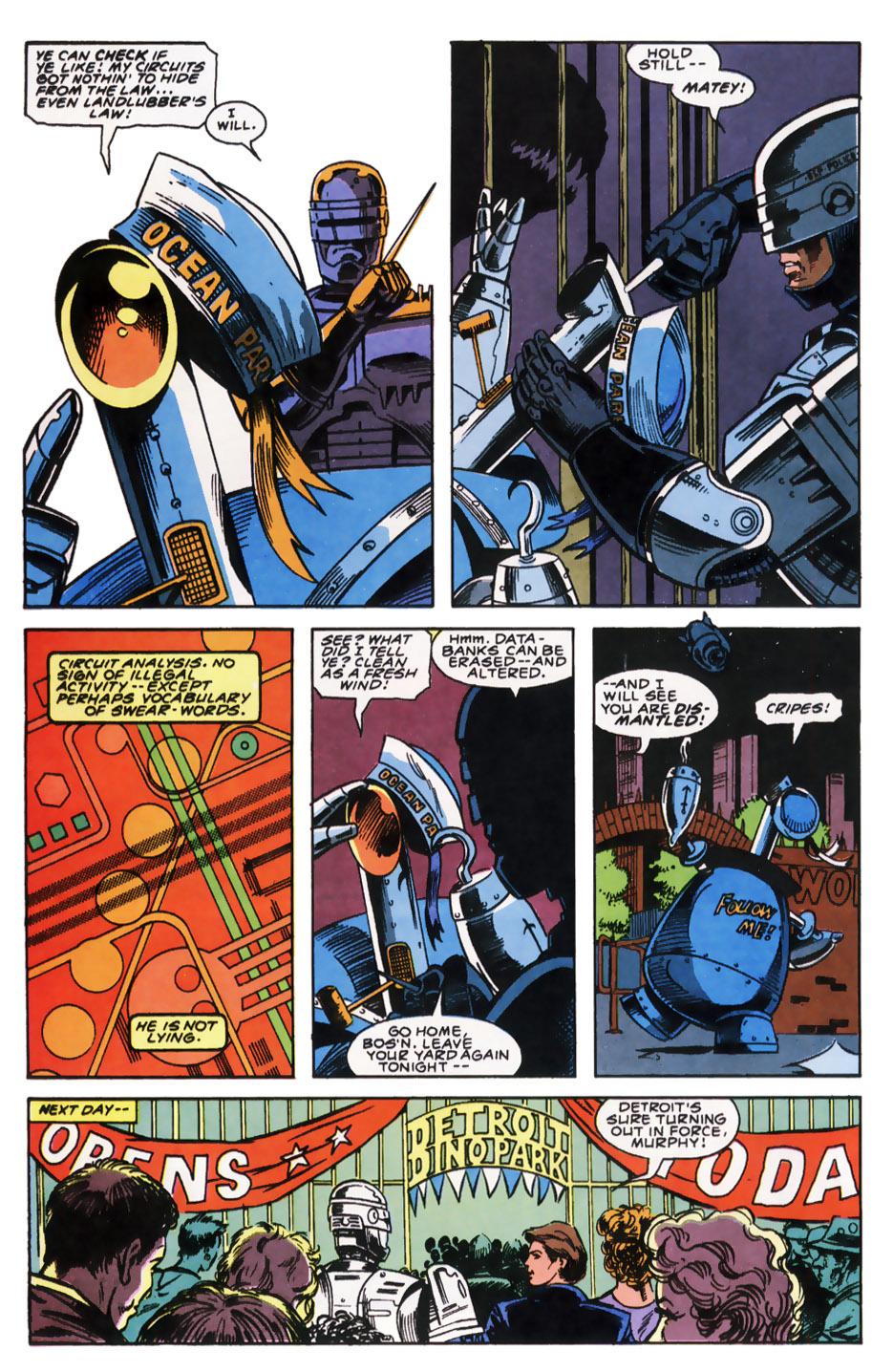 Read online Robocop (1990) comic -  Issue #7 - 14