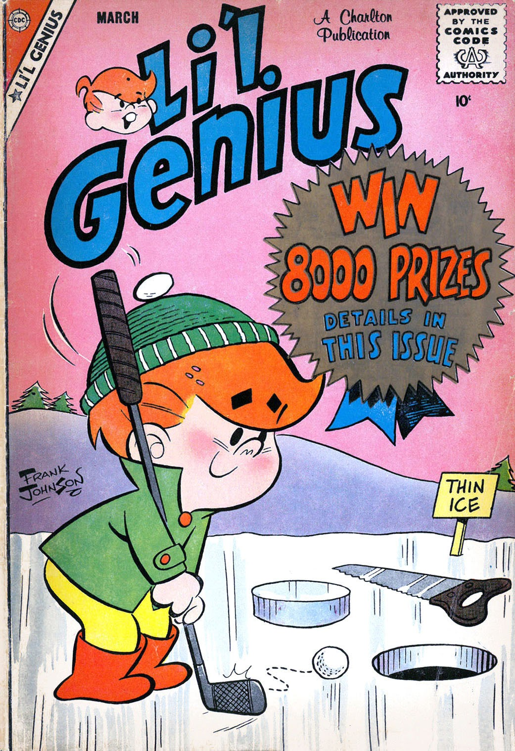 Lil Genius 20 Page 1