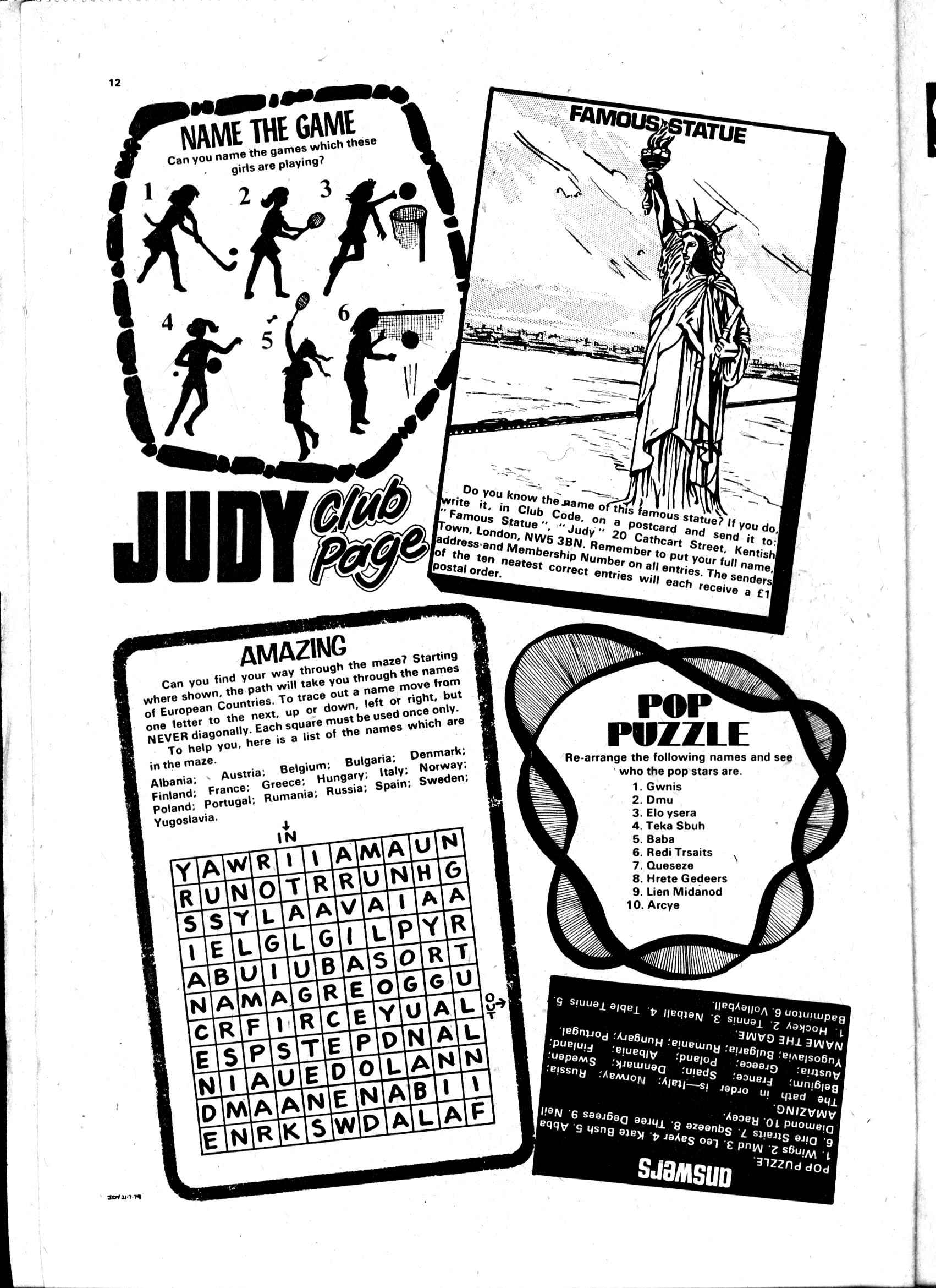 Read online Judy comic -  Issue #19 - 12