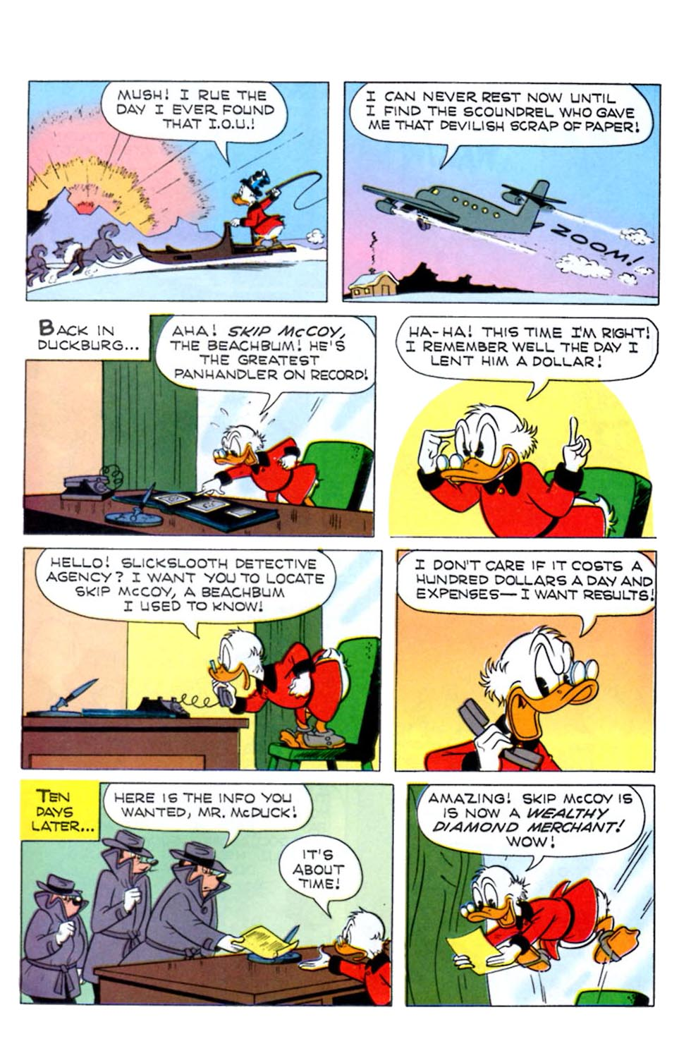 Read online Uncle Scrooge (1953) comic -  Issue #289 - 23