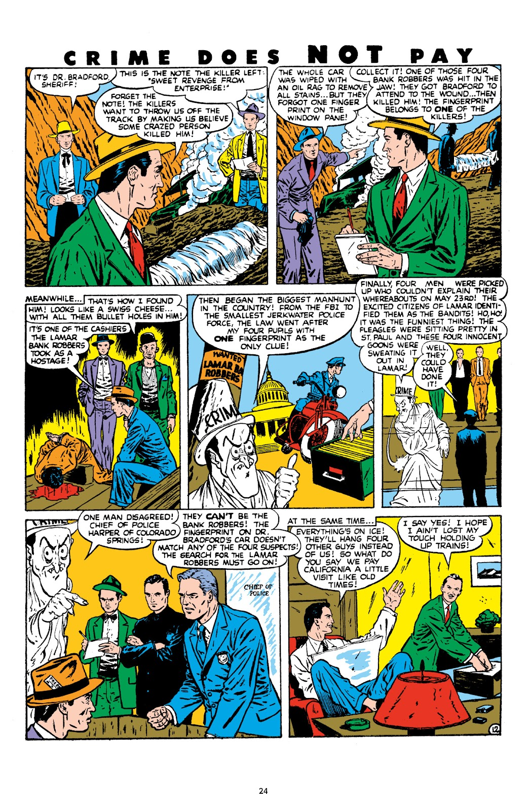 Read online Crime Does Not Pay Archives comic -  Issue # TPB 8 (Part 1) - 26