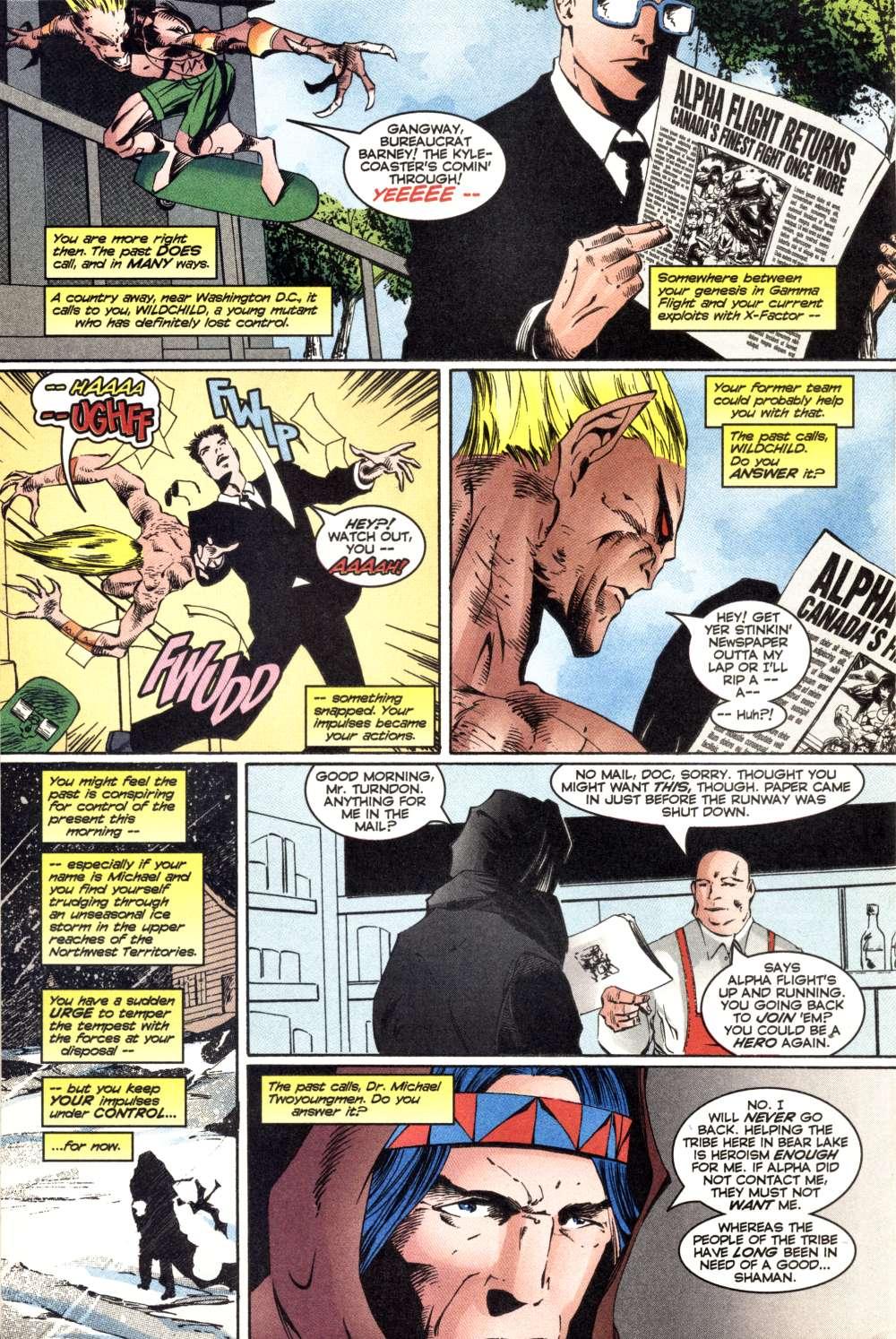 Read online Alpha Flight (1997) comic -  Issue #3 - 7