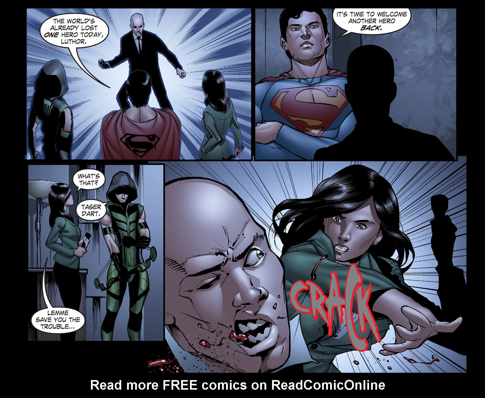 Read online Smallville: Season 11 comic -  Issue #40 - 12