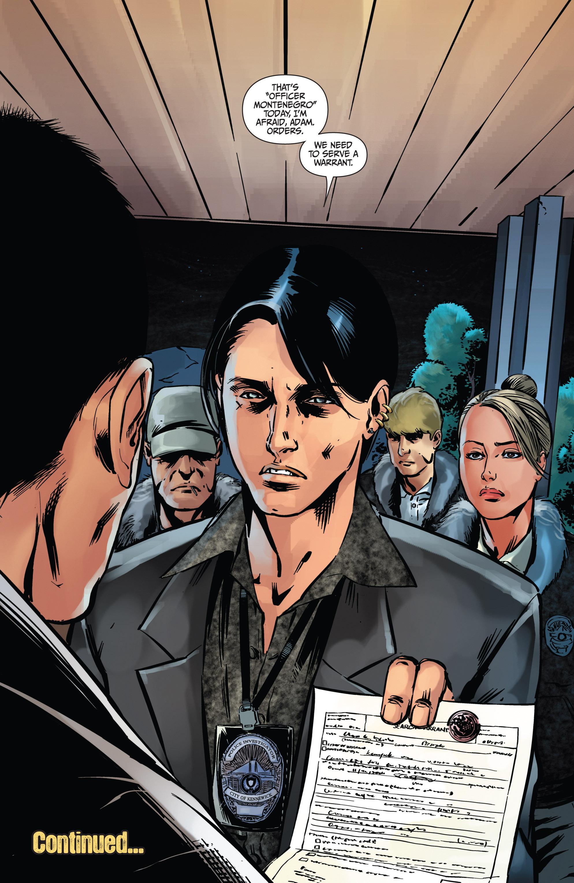 Read online Mercy Thompson comic -  Issue #4 - 24