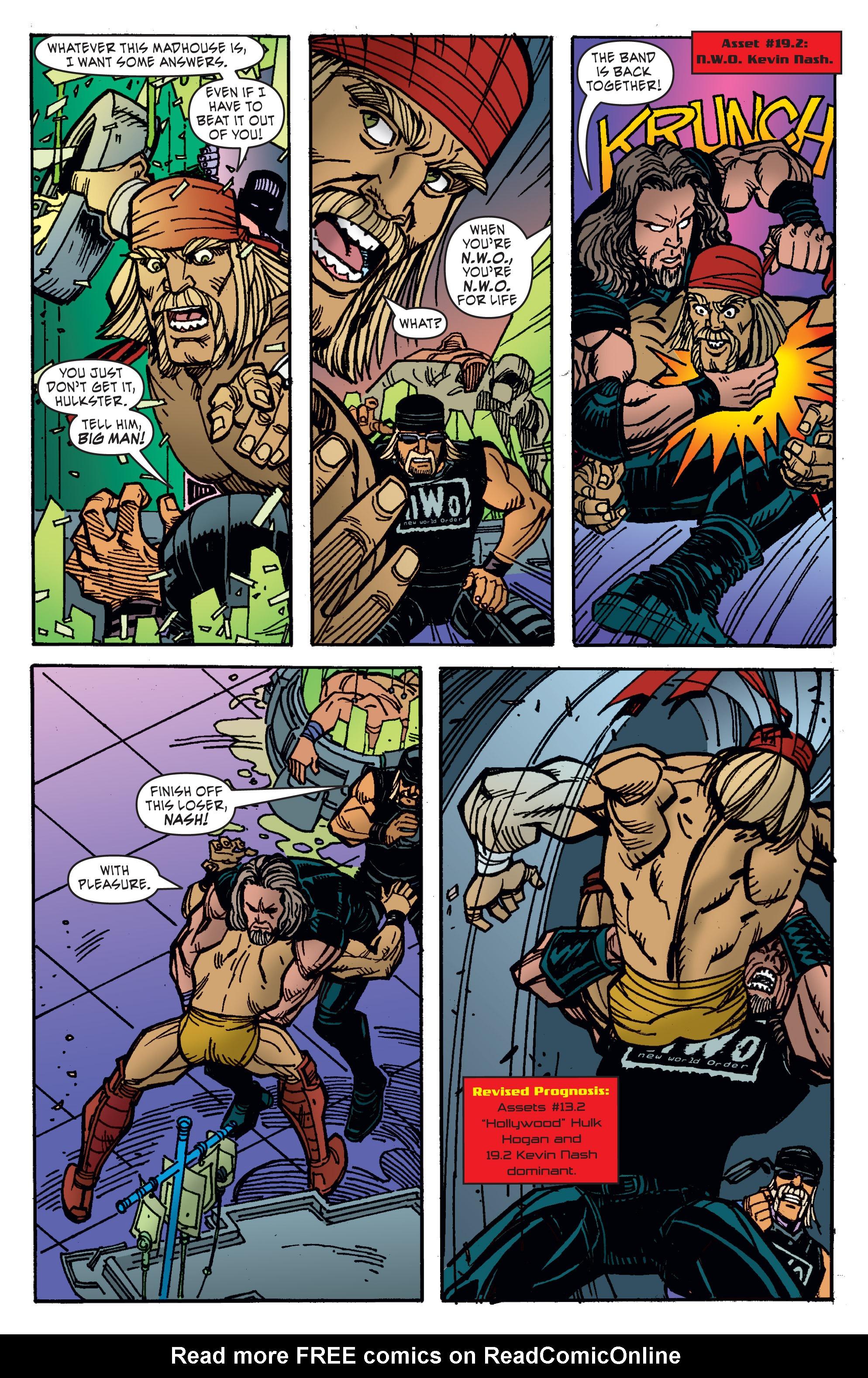 Read online WWE Superstars comic -  Issue #11 - 7