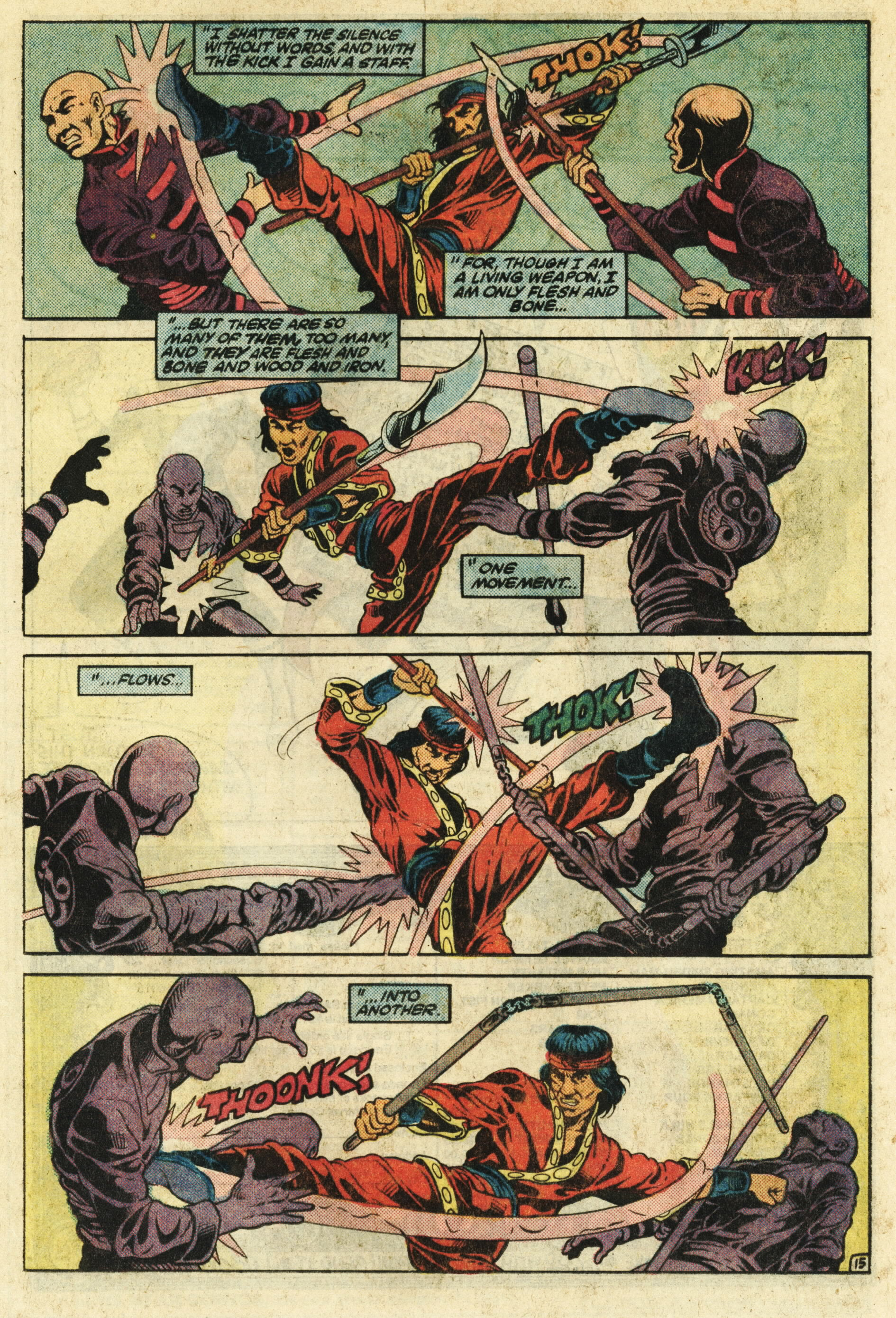 Read online Master of Kung Fu (1974) comic -  Issue #124 - 16