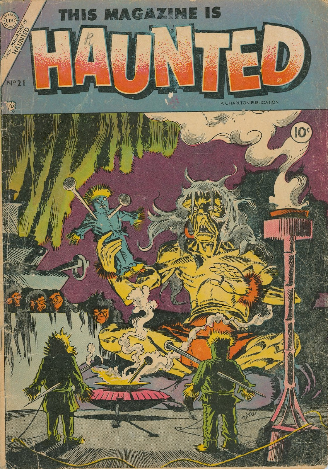 Read online This Magazine Is Haunted comic -  Issue #21 - 1