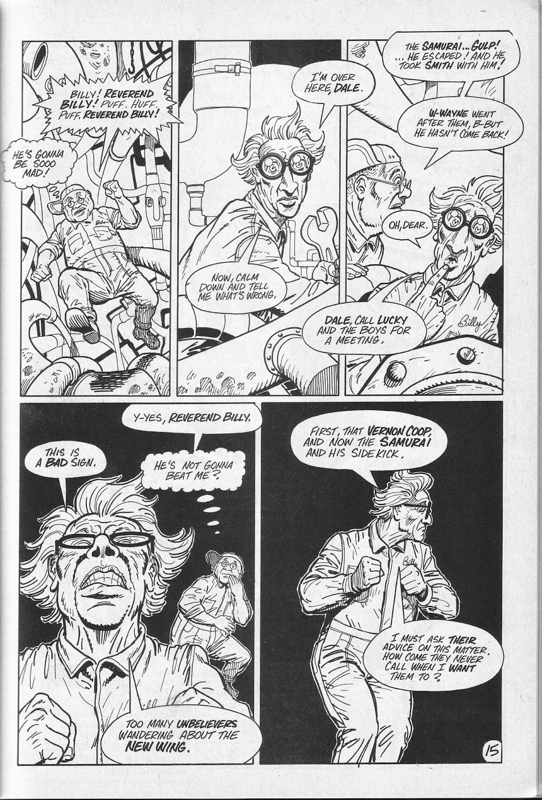 Read online Paul the Samurai (1991) comic -  Issue # TPB - 51