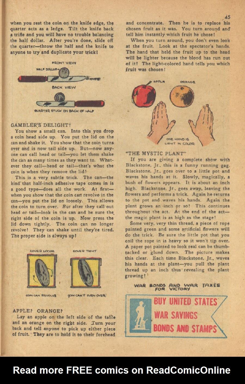 Read online Super-Magician Comics comic -  Issue #13 - 45