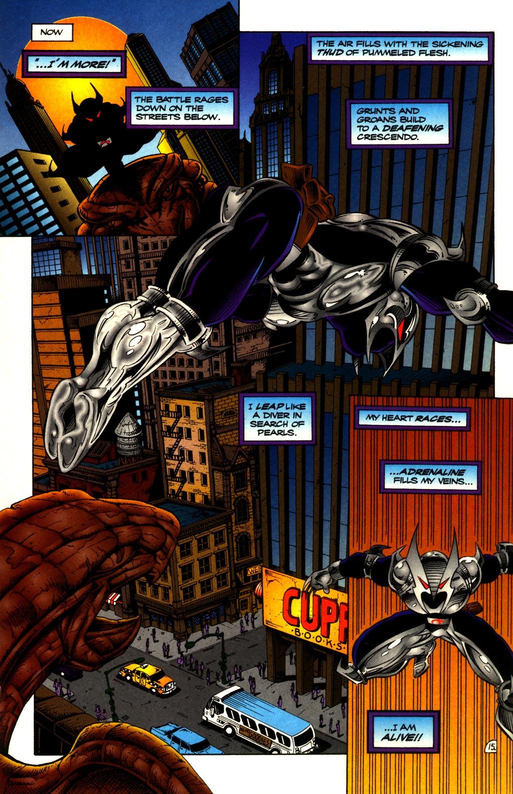 Read online ShadowHawk comic -  Issue #10 - 17