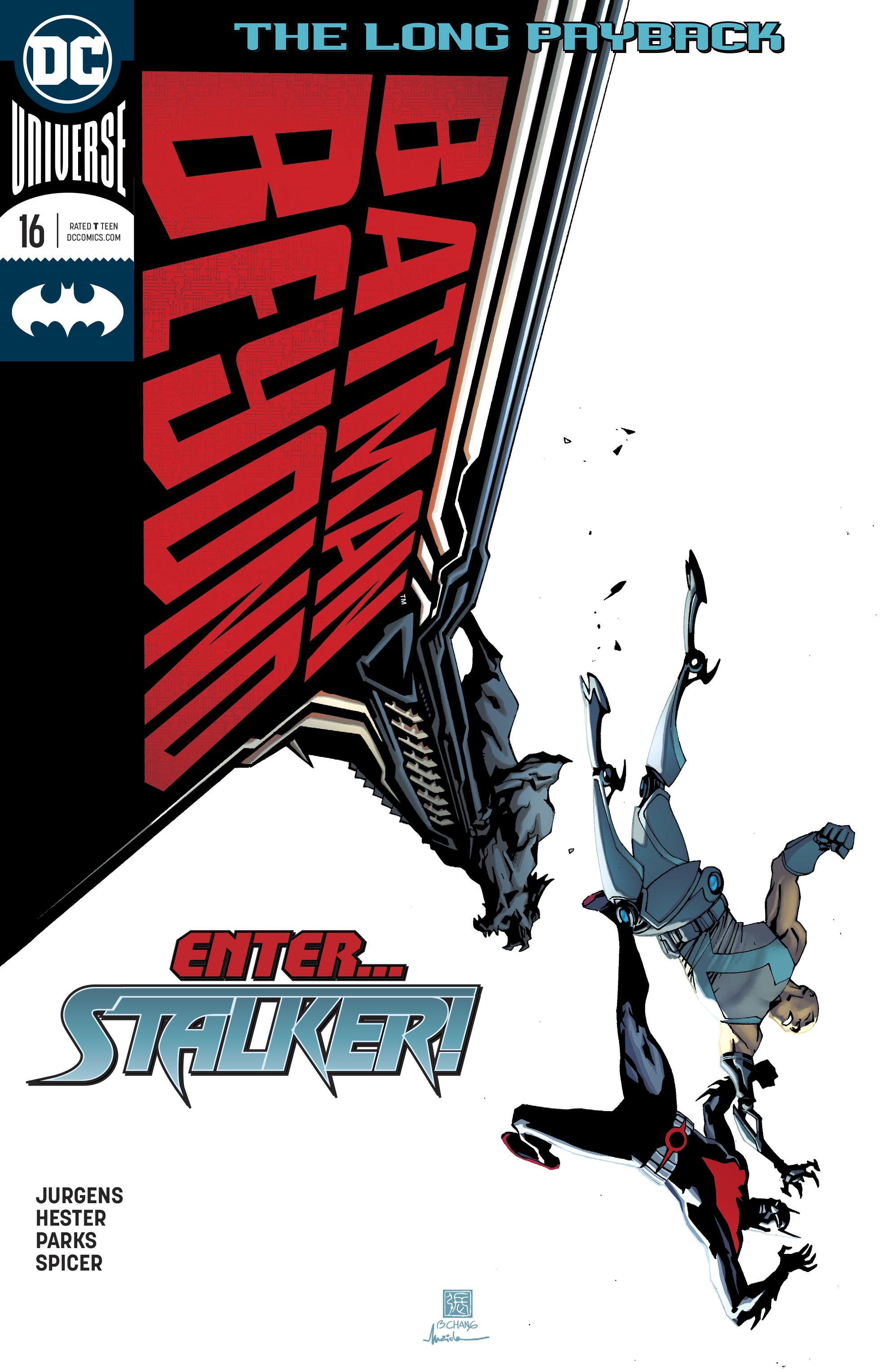 Batman Beyond (2016) 16 Page 1